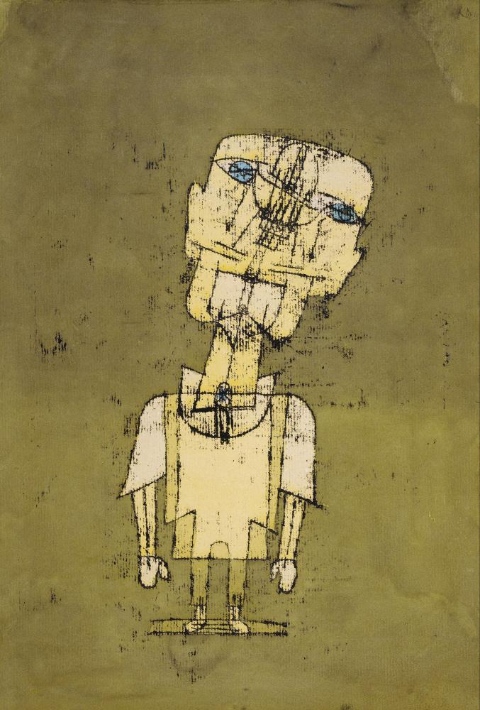 Gespenst eines Genies (Ghost of a Genius) by Paul Klee