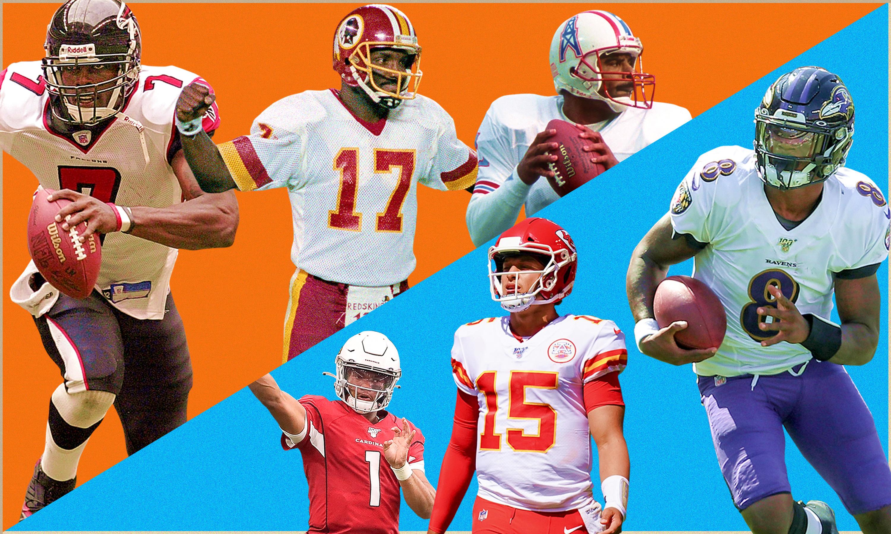 'We've come so far': how black quarterbacks defied a racist past to become the NFL's future