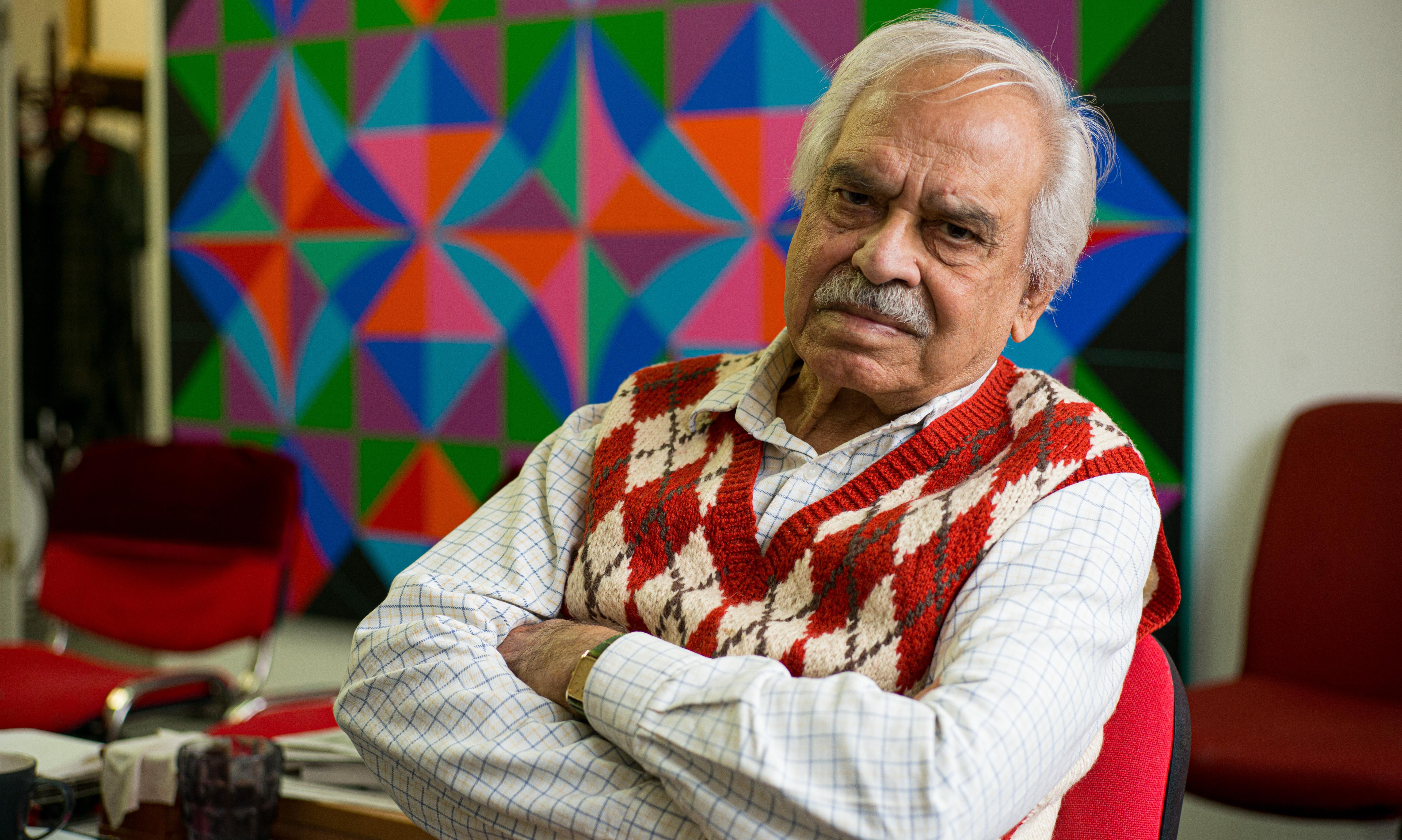 'My life has been a struggle against the establishment': artist Rasheed Araeen