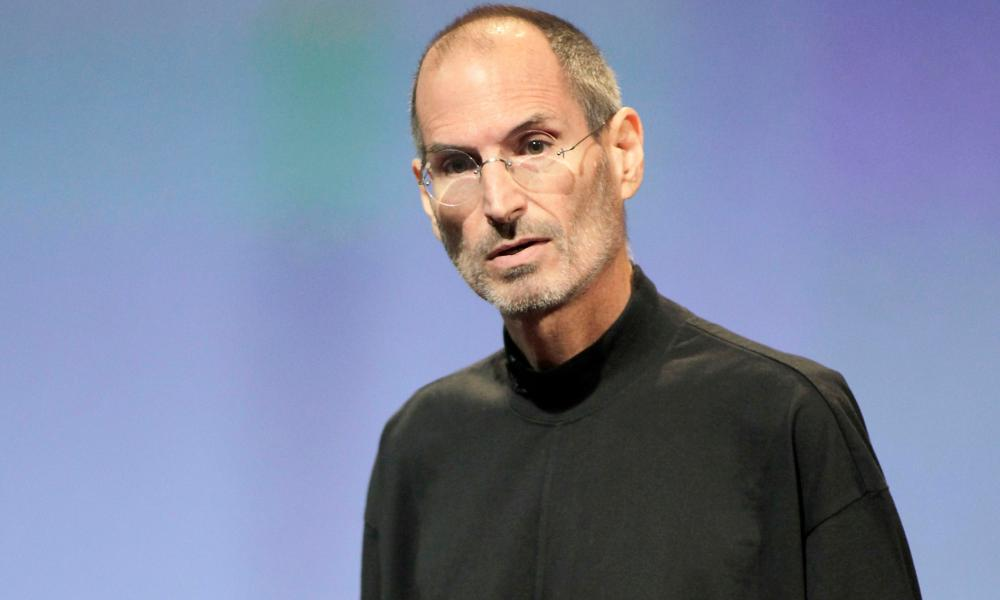 Steve Jobs, remembered for his black poloneck and dad jeans