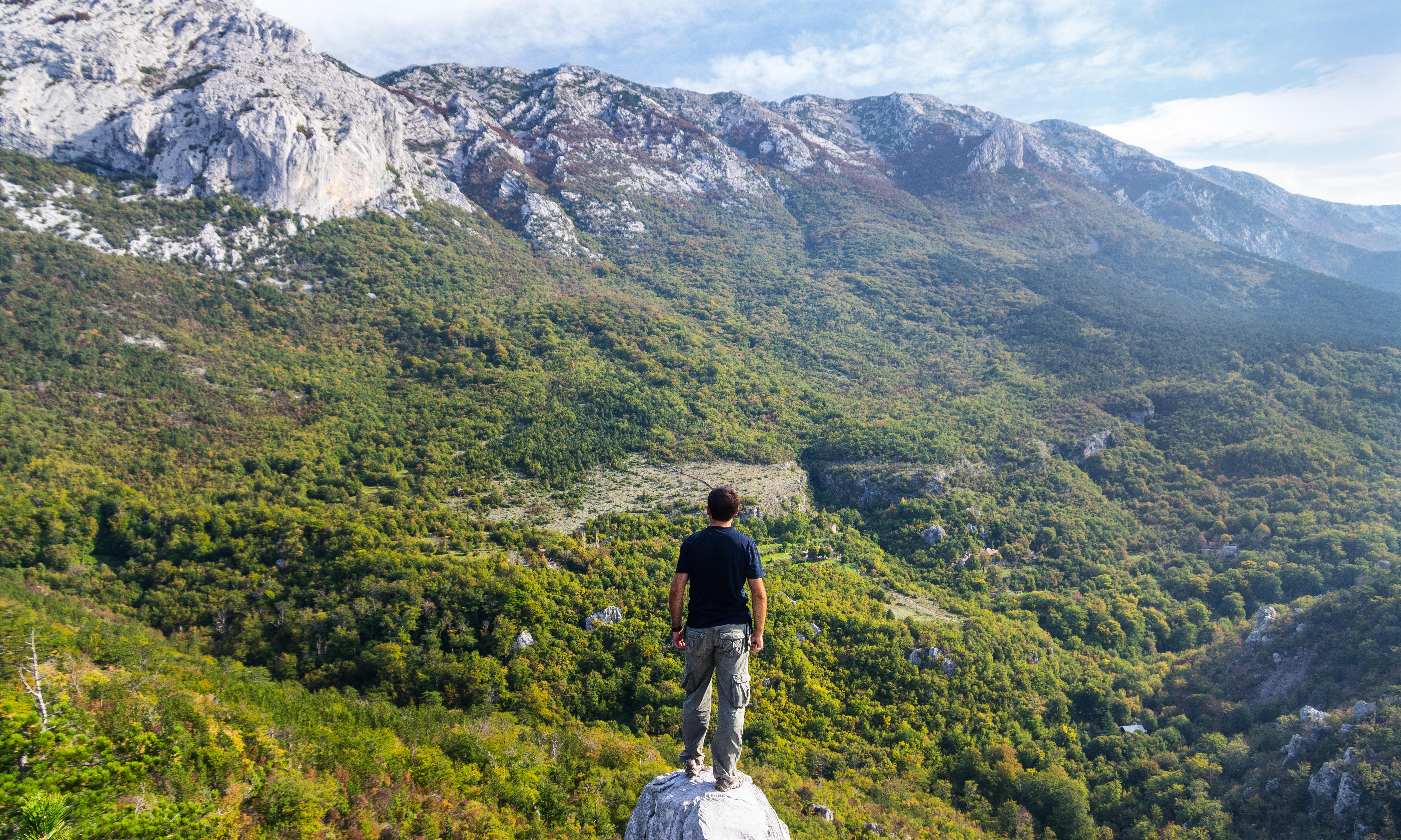 'Life on the edge of civilisation': hiking in Croatia's mountains