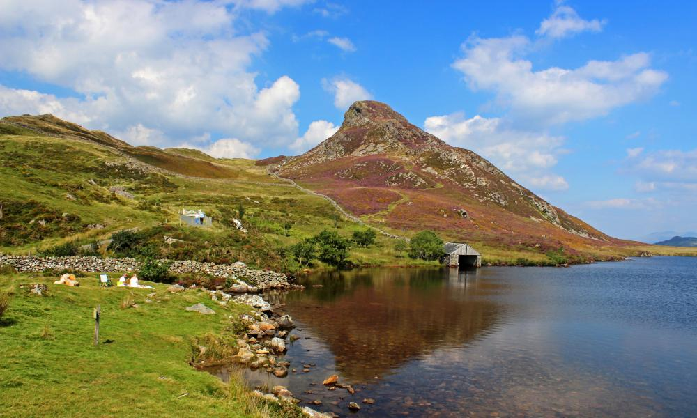 Lake Cregennen, Wales