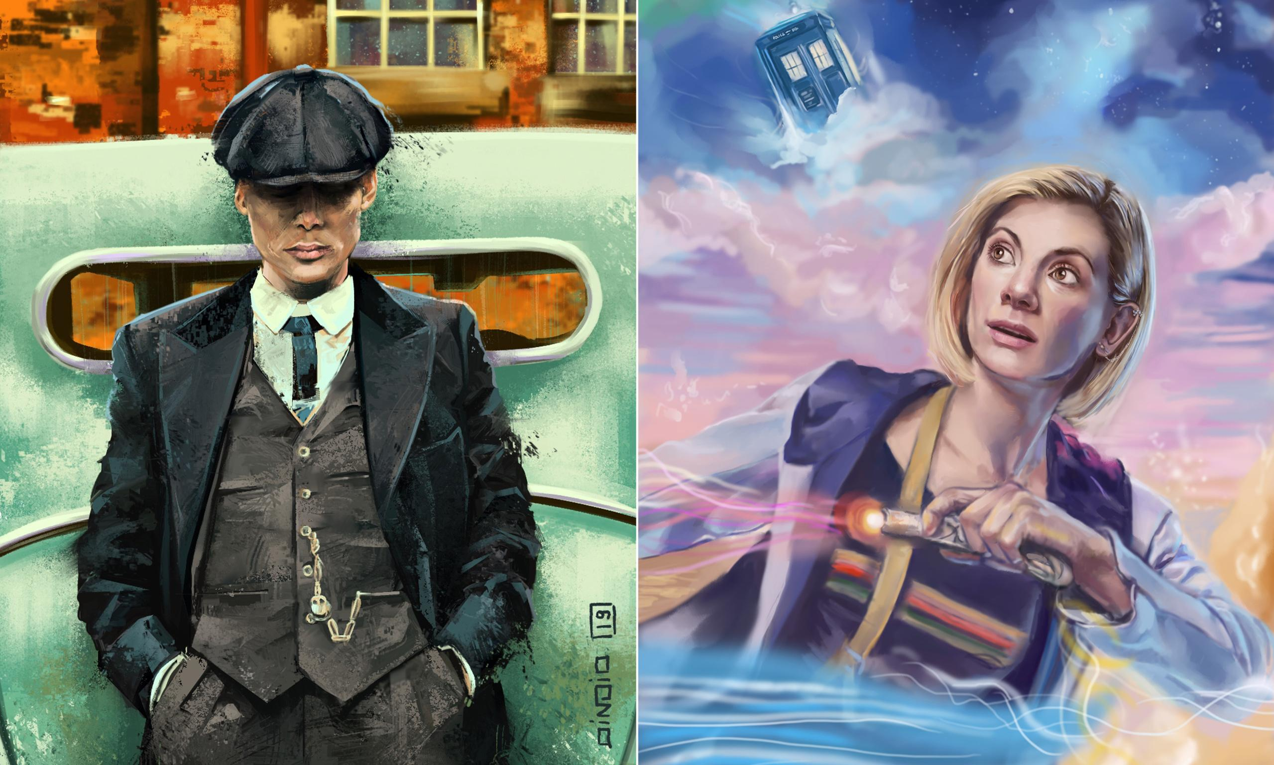 Picture this … fans use art to influence plots on favourite TV shows