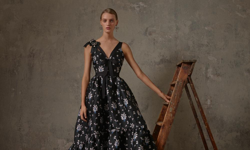 High street ballgowns at the Erdem x HM collection.