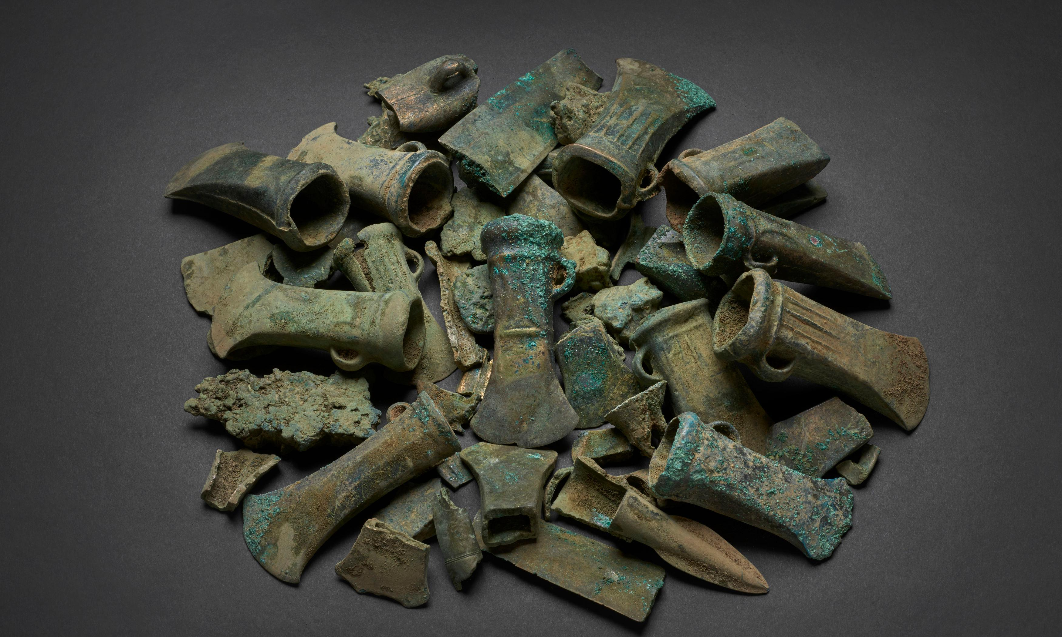 'Havering hoard' of bronze age objects to go on show in London