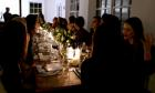 Guests enjoying a previous Italian Supper Club