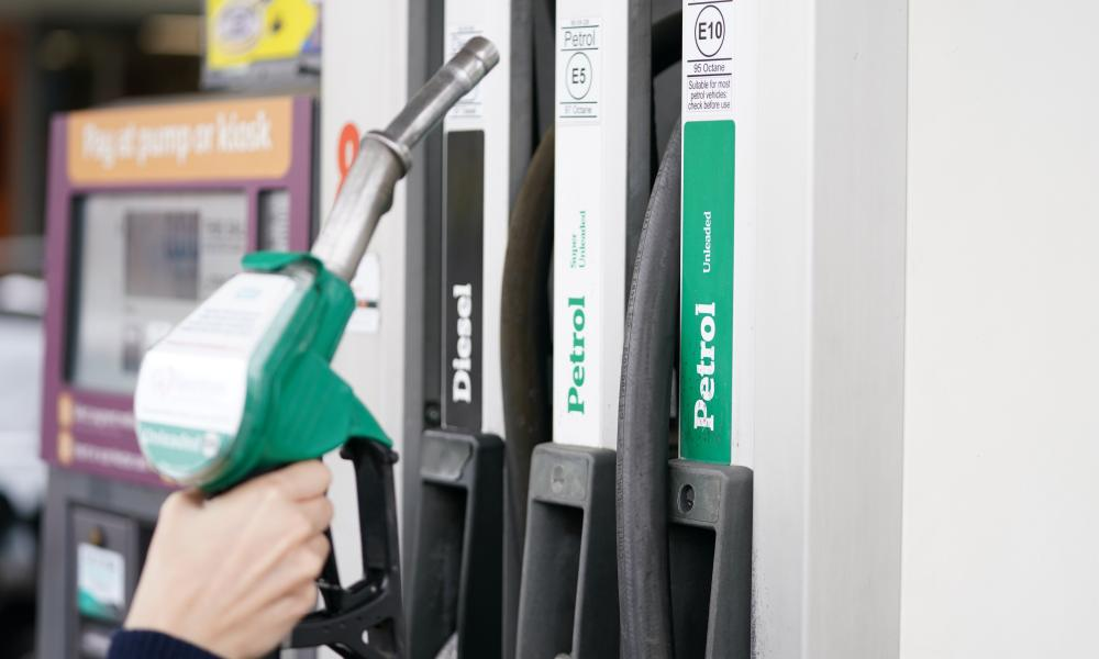 The price of petrol is higher than at any time since 2013