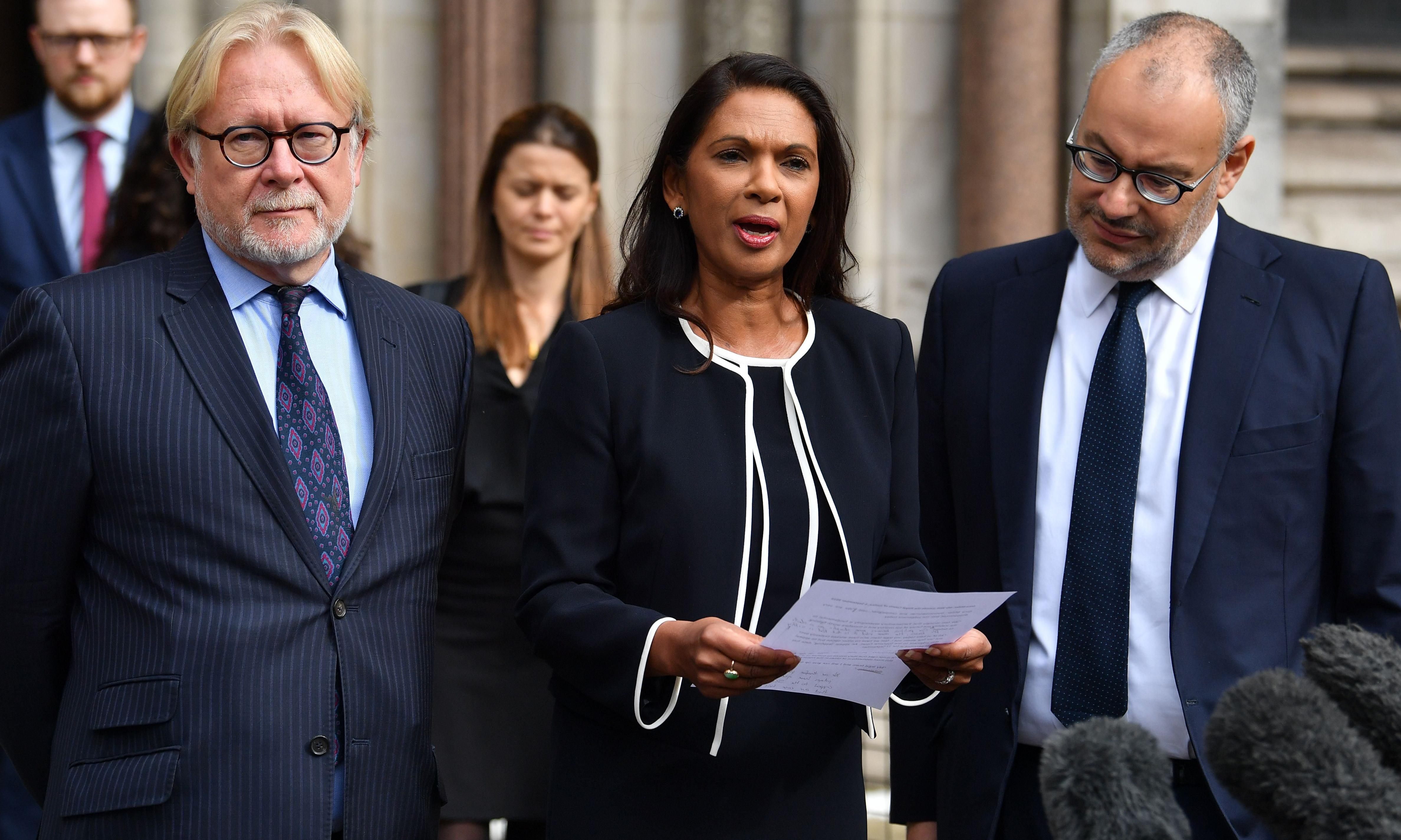 Gina Miller to continue 'fight for democracy' after prorogation ruling