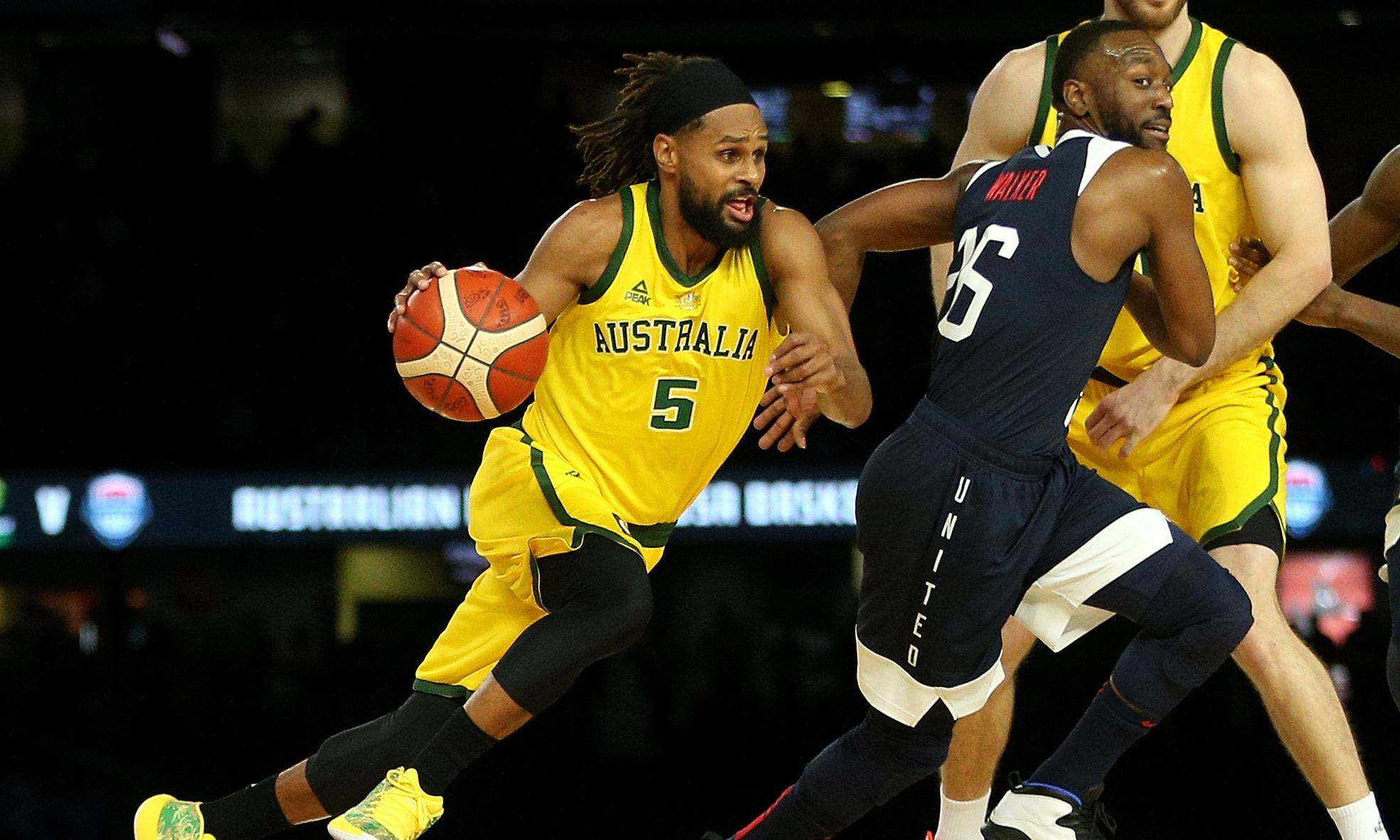 Australia beats USA for the first time ever in basketball