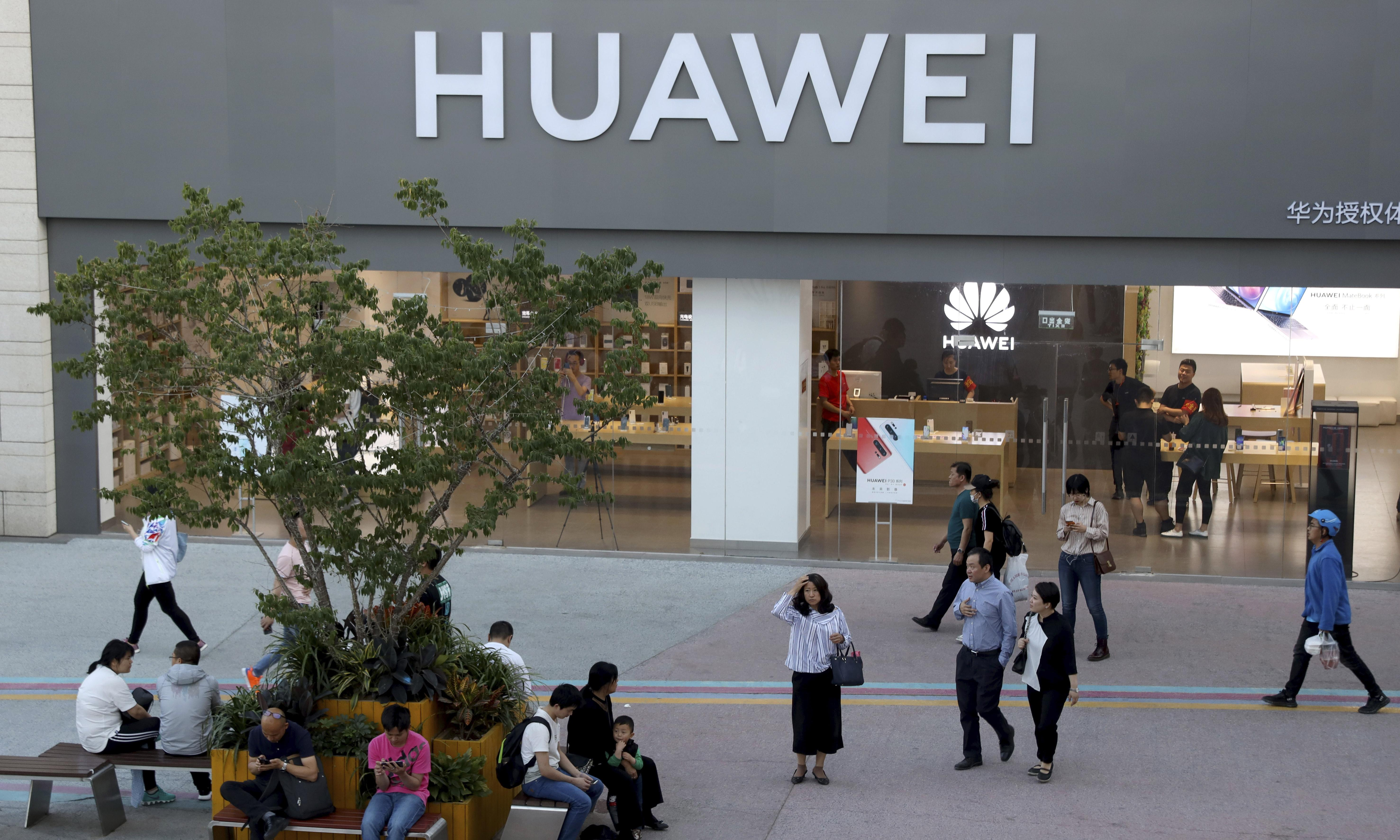 US ban on Huawei a 'cynically timed' blow in escalating trade war, says firm