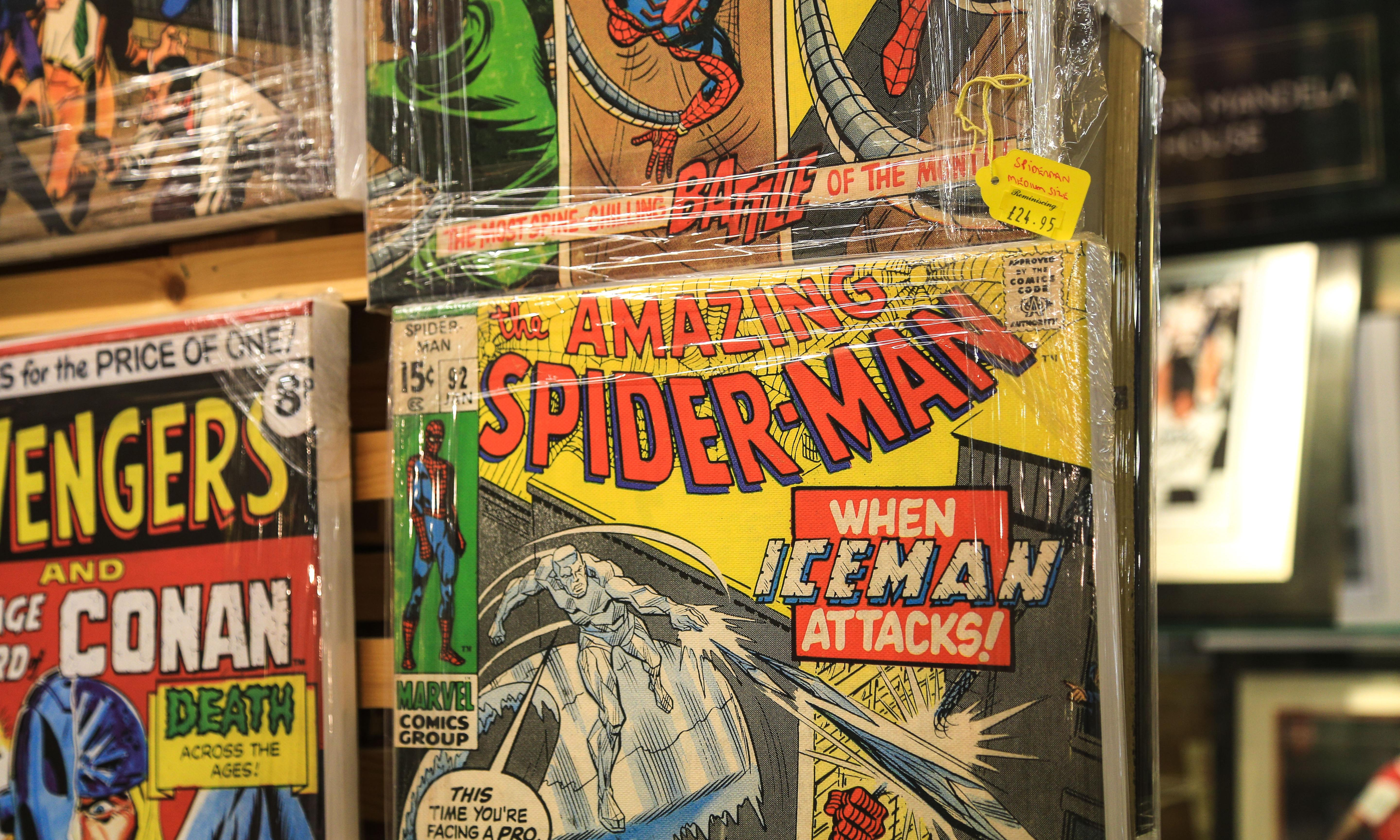 Why are comics shops closing as superheroes make a mint?