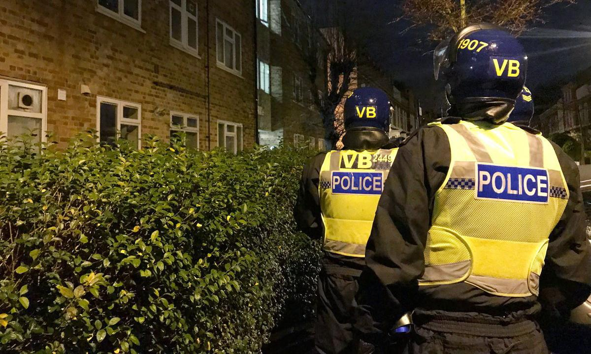 Police arrest 43 and seize weapons and drugs in east London