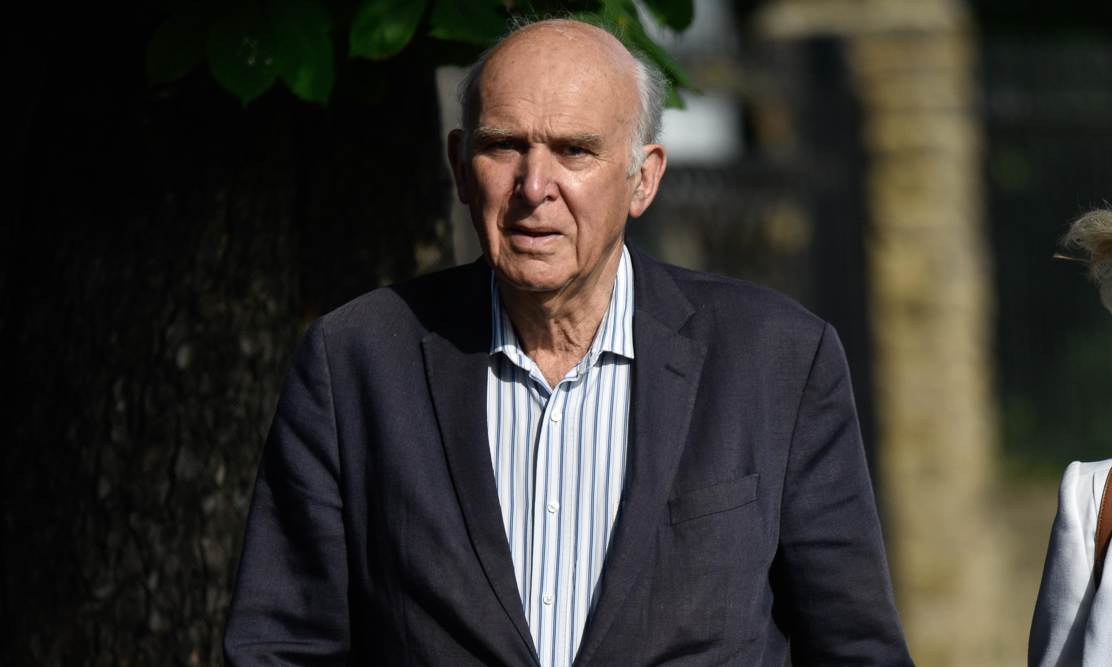 Vince Cable to step down as Lib Dem leader on 23 July