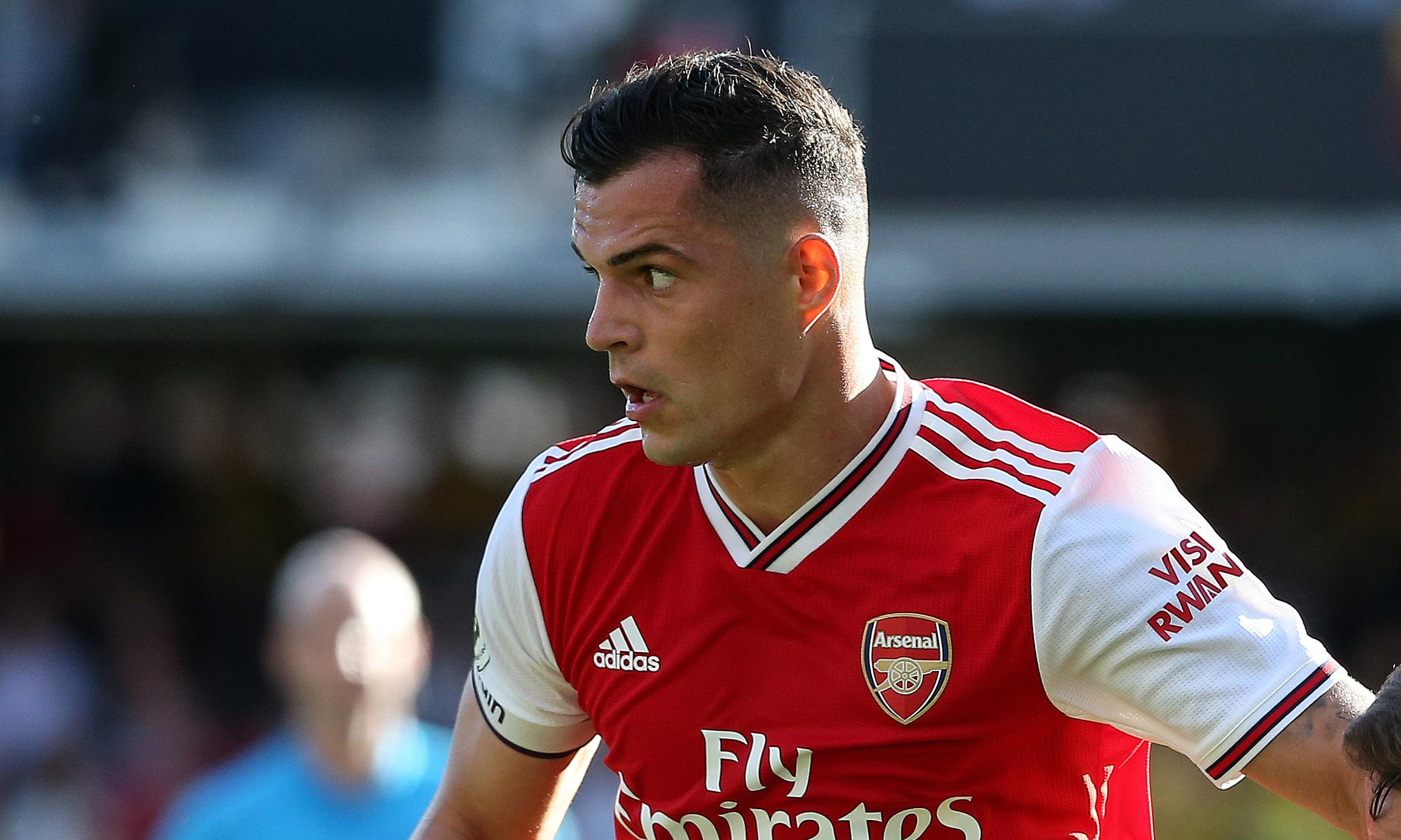 Arsenal captain Granit Xhaka says team were 'scared' in second half at Watford
