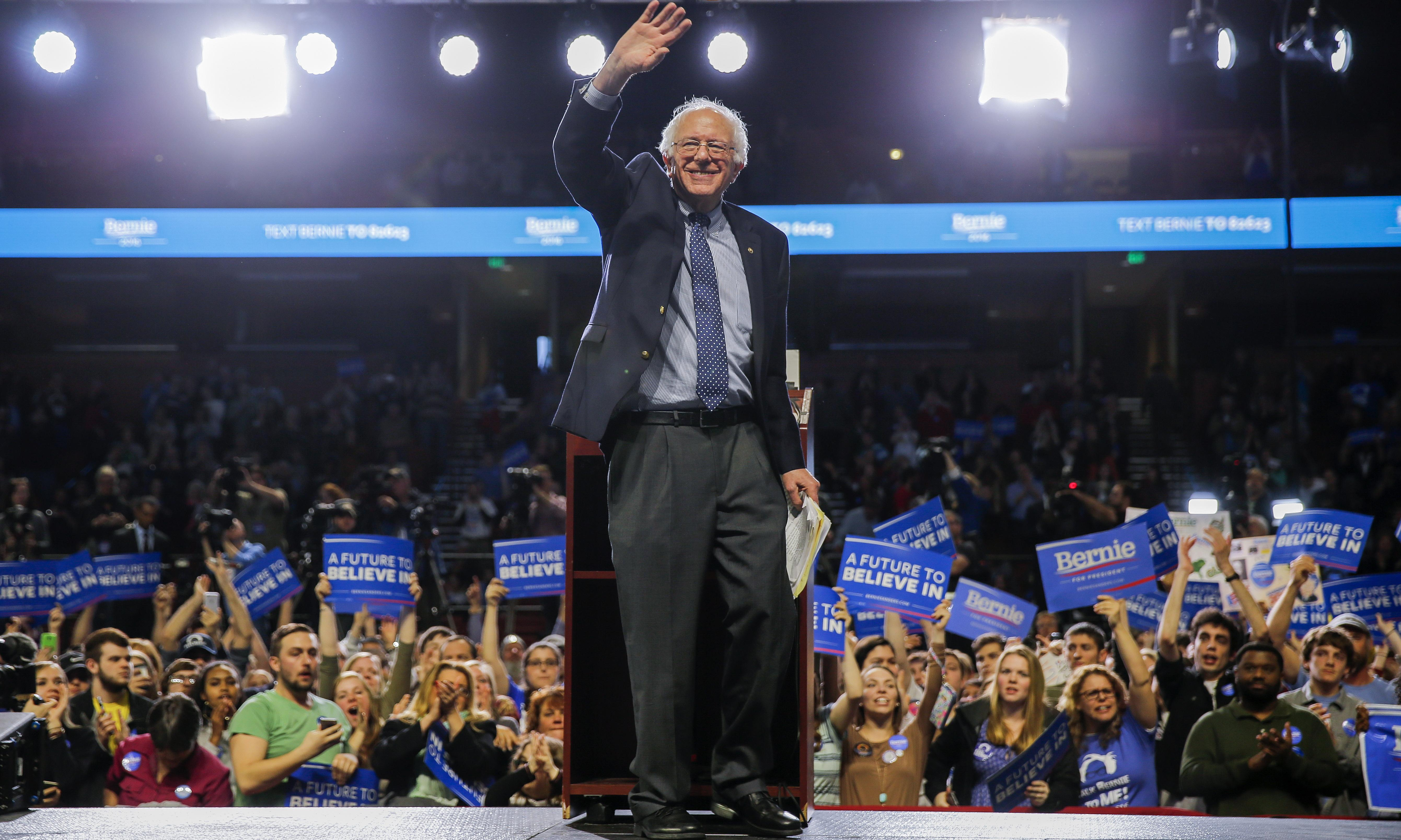 US briefing: Bernie fundraising, cervical cancer and high-speed rail
