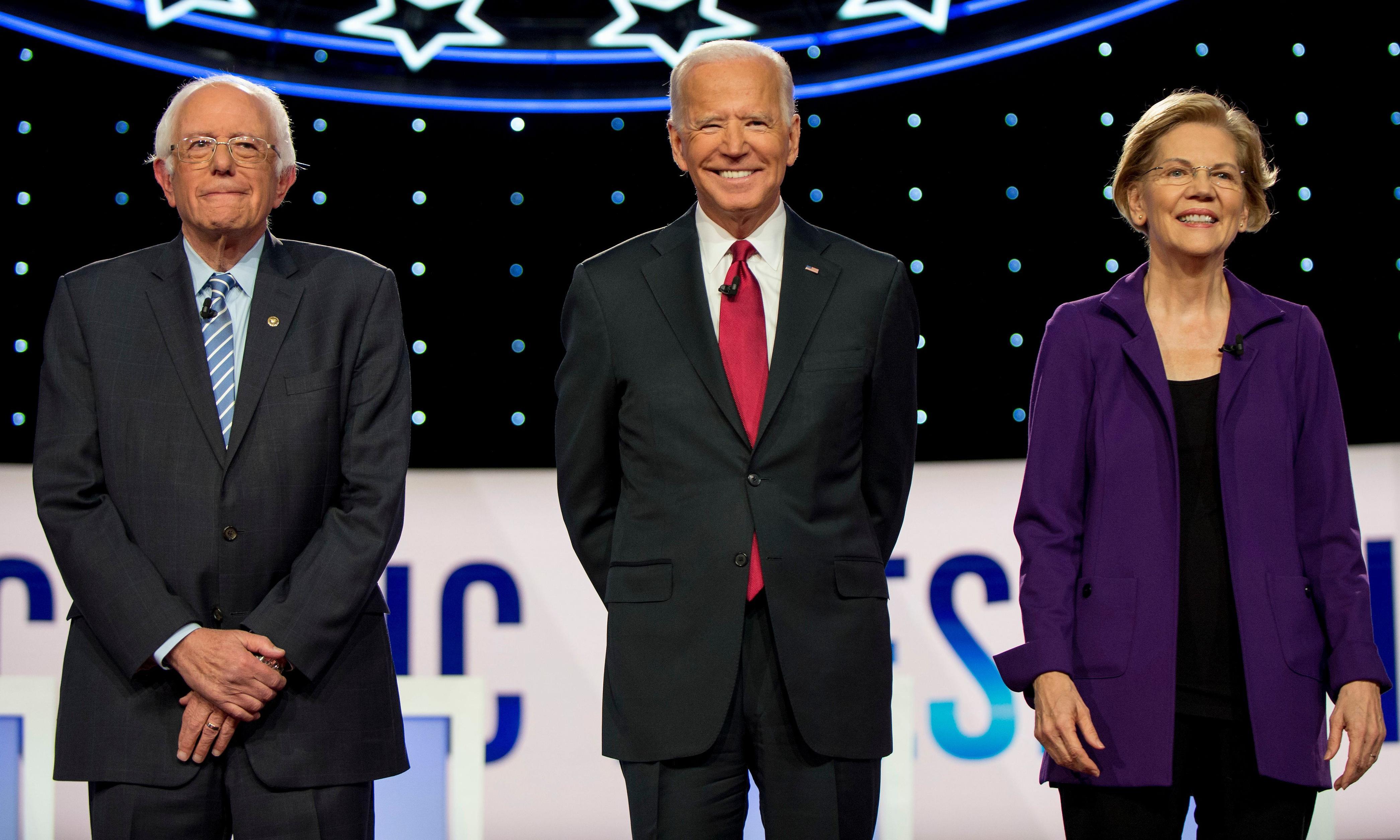 It's Warren, Sanders or Biden vs Trump – all the other Democrats are irrelevant