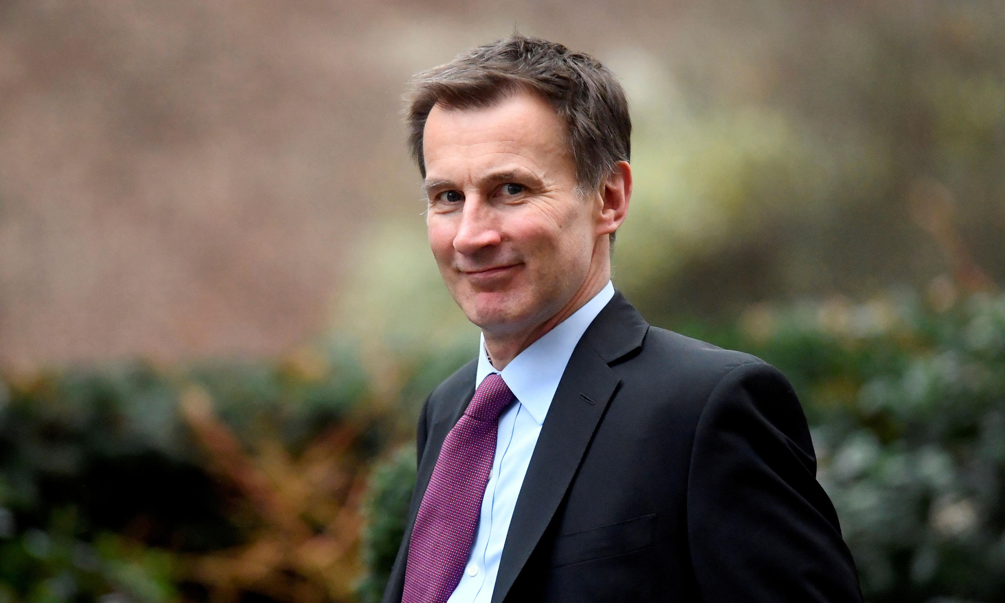 Jeremy Hunt urges Germany to rethink Saudi arms sales ban