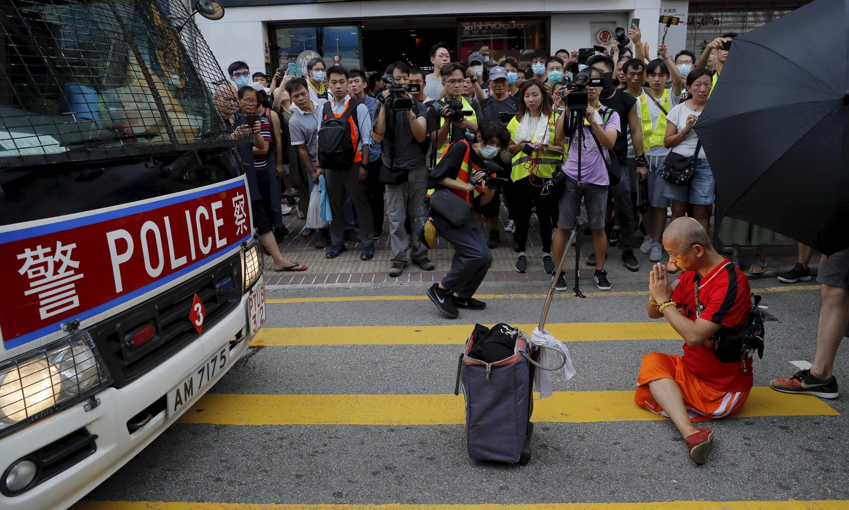 'Don't mess with us': the spirit of rebellion spreads in Hong Kong