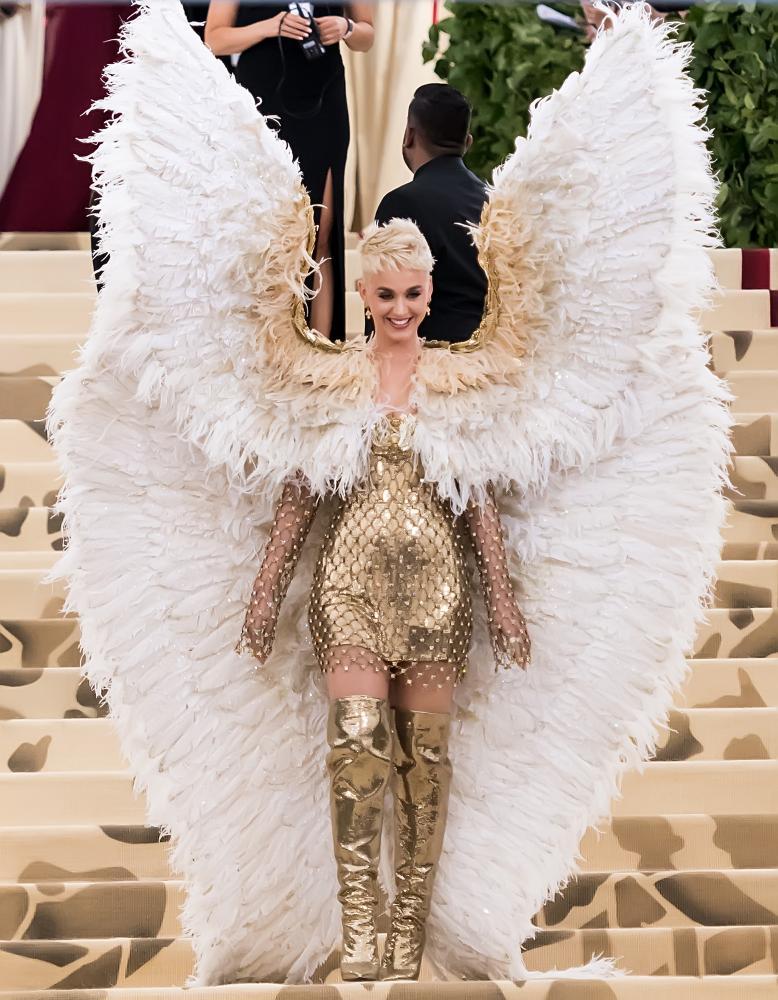 Katy Perry at the 2018 Met Gala