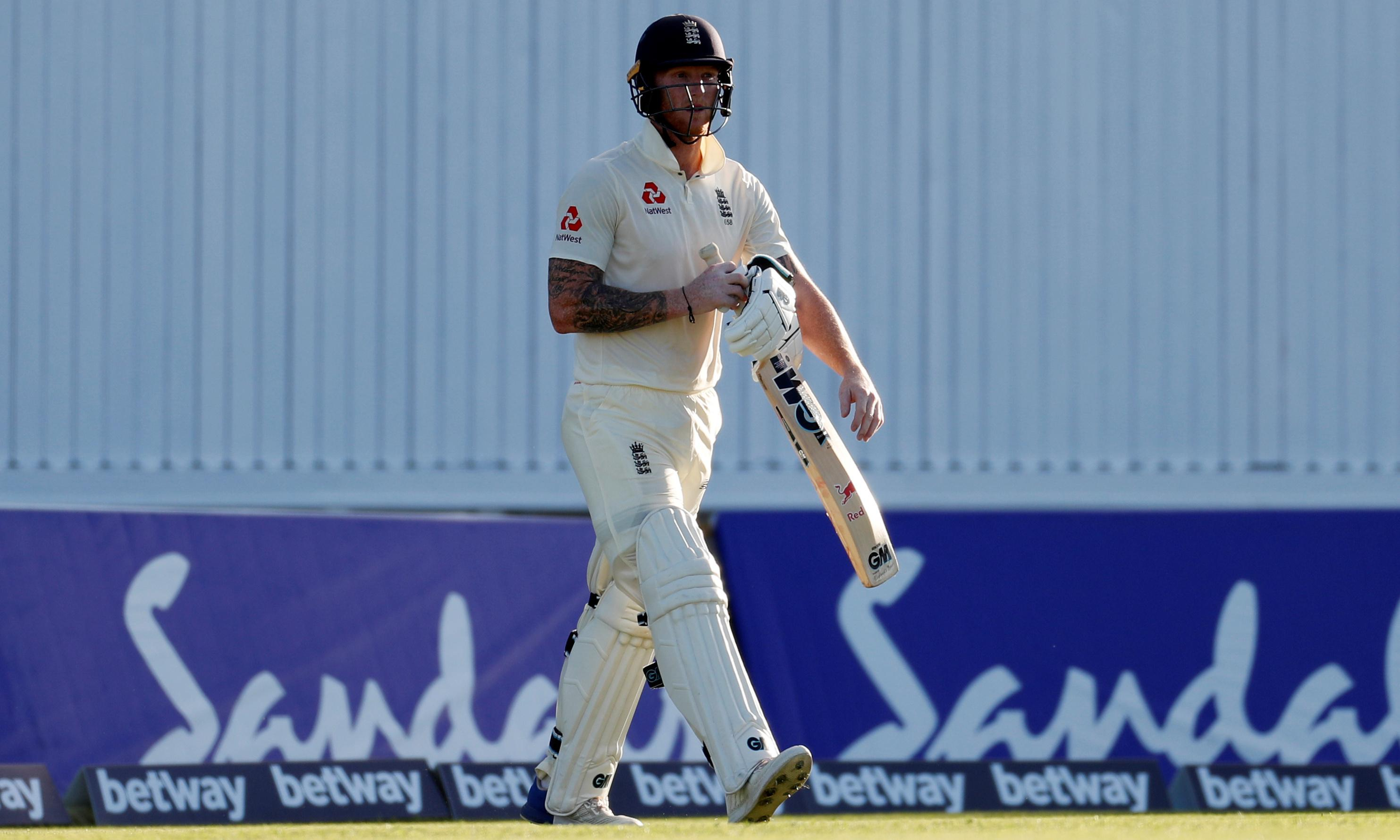 Ben Stokes: 'I didn't take my pads off, I was just sat in my chair'