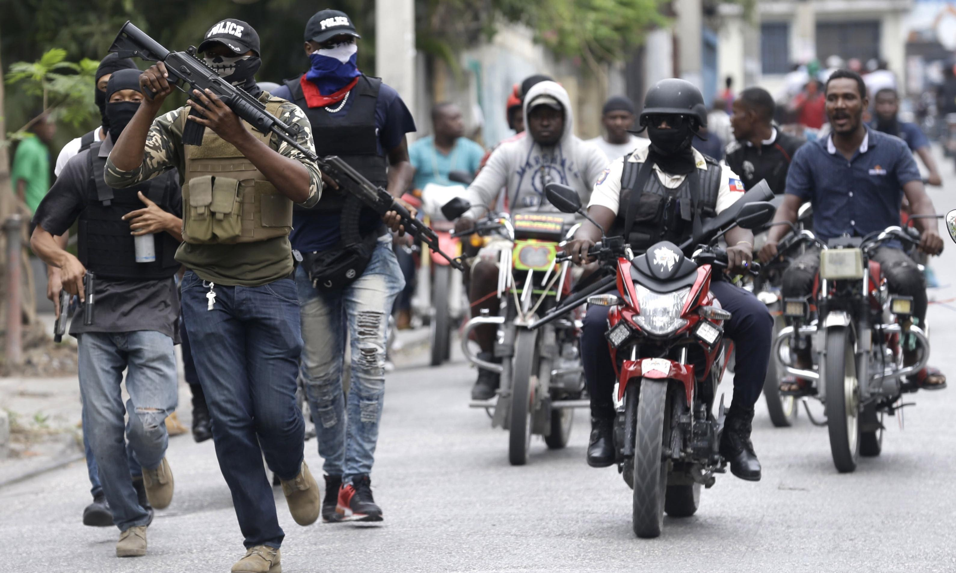 Haiti cancels carnival after gun battle between police and soldiers