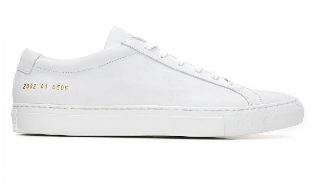 Upgrade from Stan Smiths? The Common Projects Achilles shoe.