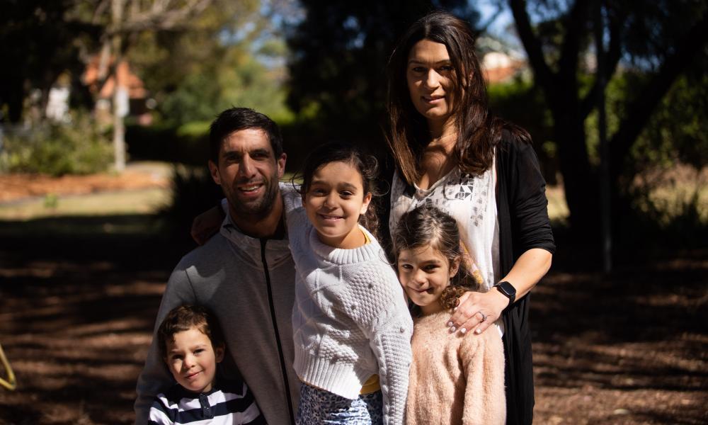 Samar Yates and family.