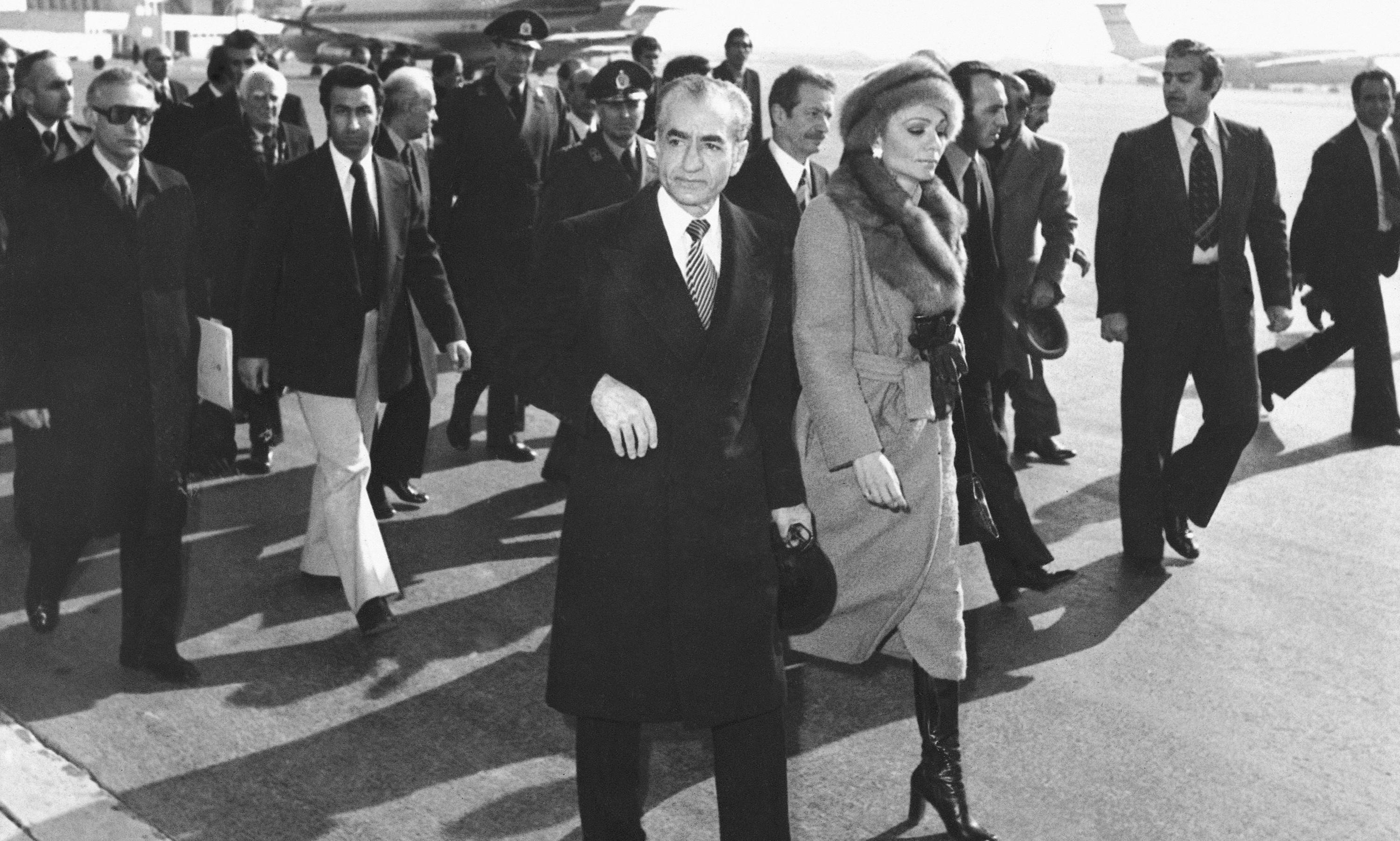 Frenzied rejoicing in Iran as Shah leaves - archive, 17 January 1979