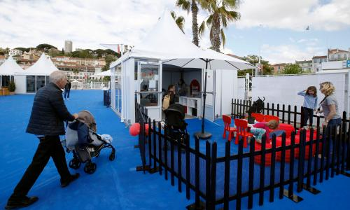 The reels on the bus: inside Cannes's first creche