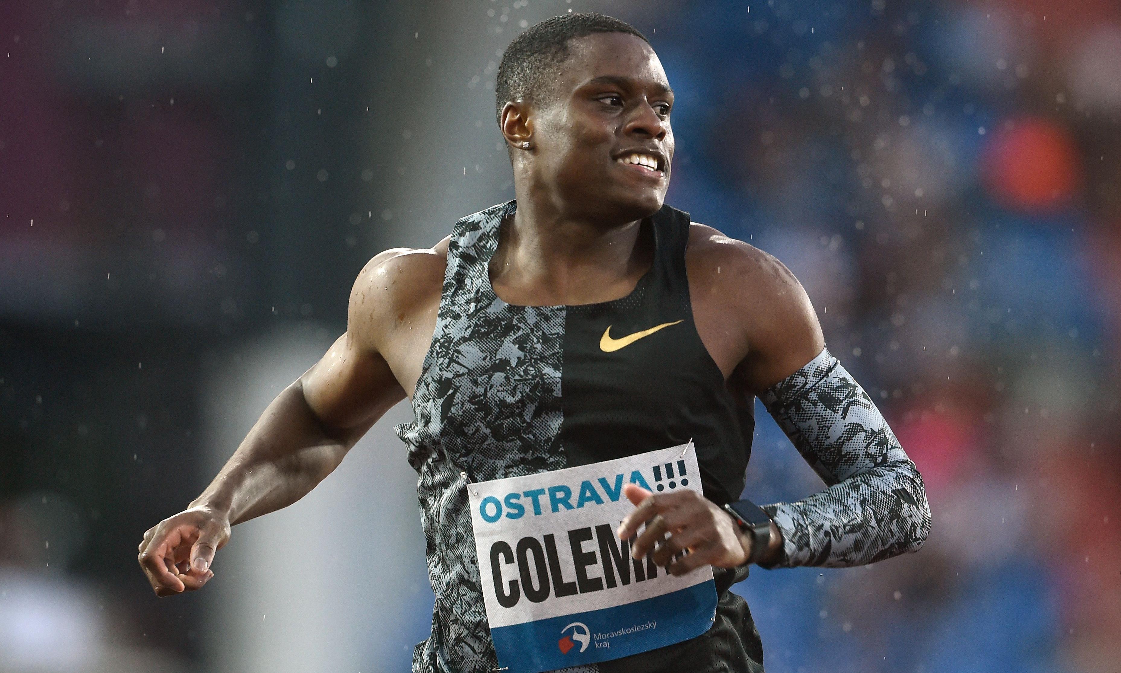US sprinter Christian Coleman facing ban for alleged missed drug tests