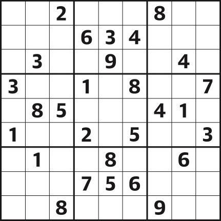 Sudoku 4,475 easy