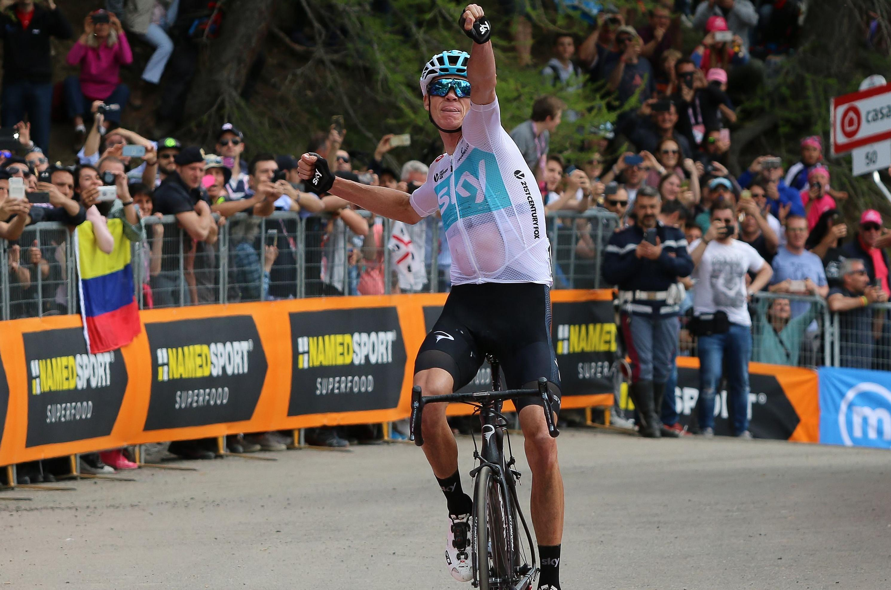 A moment of pure sporting magic from Chris Froome