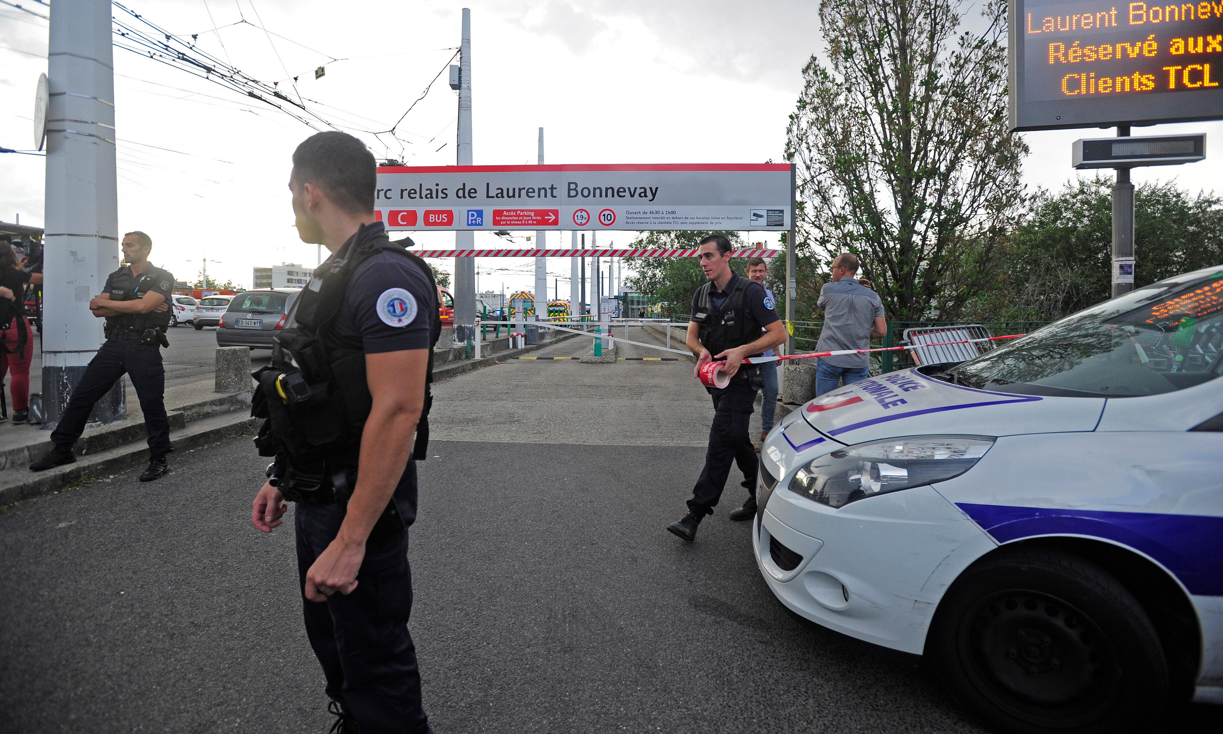 One dead and eight wounded after suspected knife attack in France