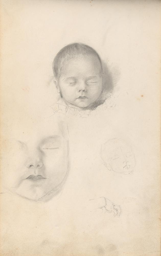 Thomas Bock's Sketchbook of postmortem studies, c1835.
