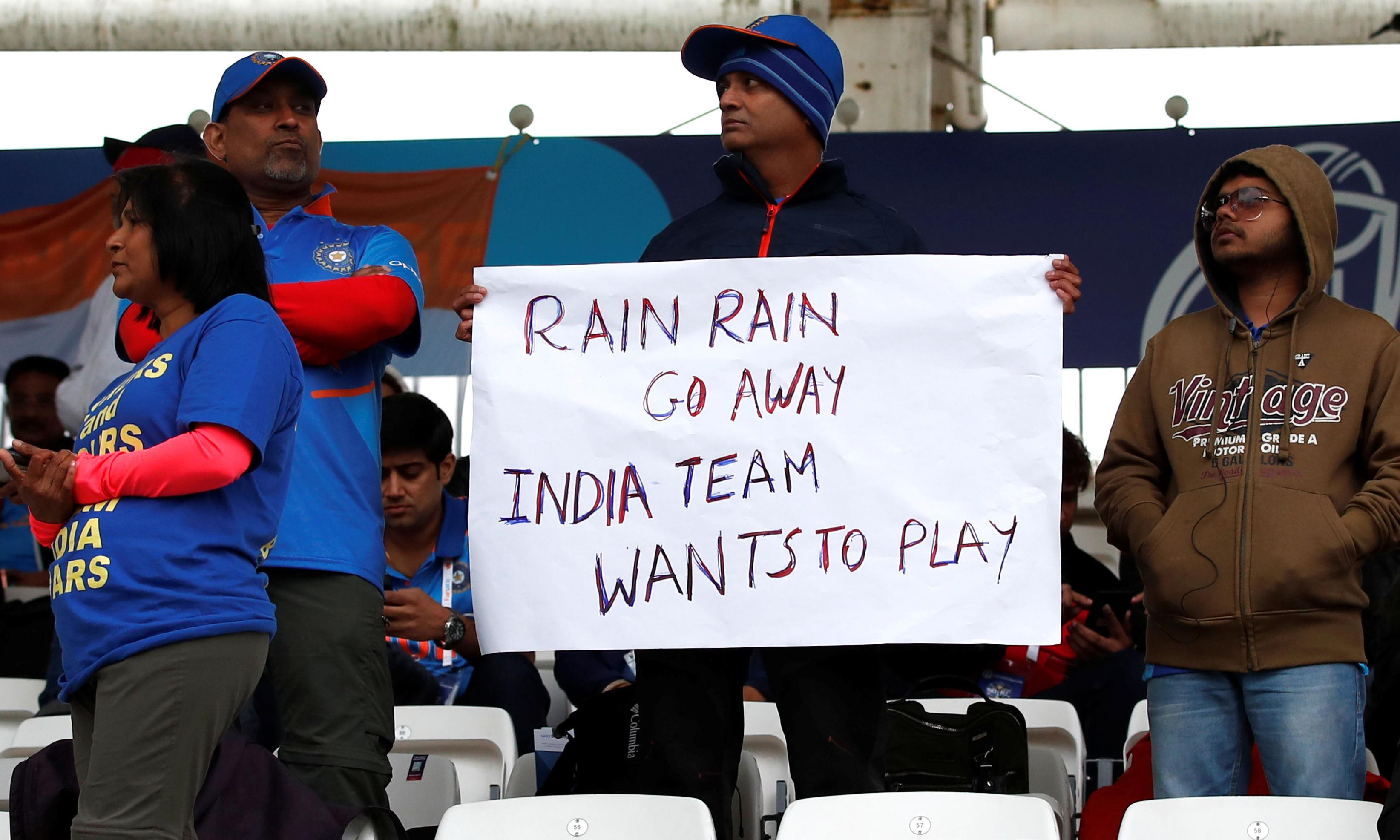 Cricket World Cup's summer dream is turning into a washout nightmare