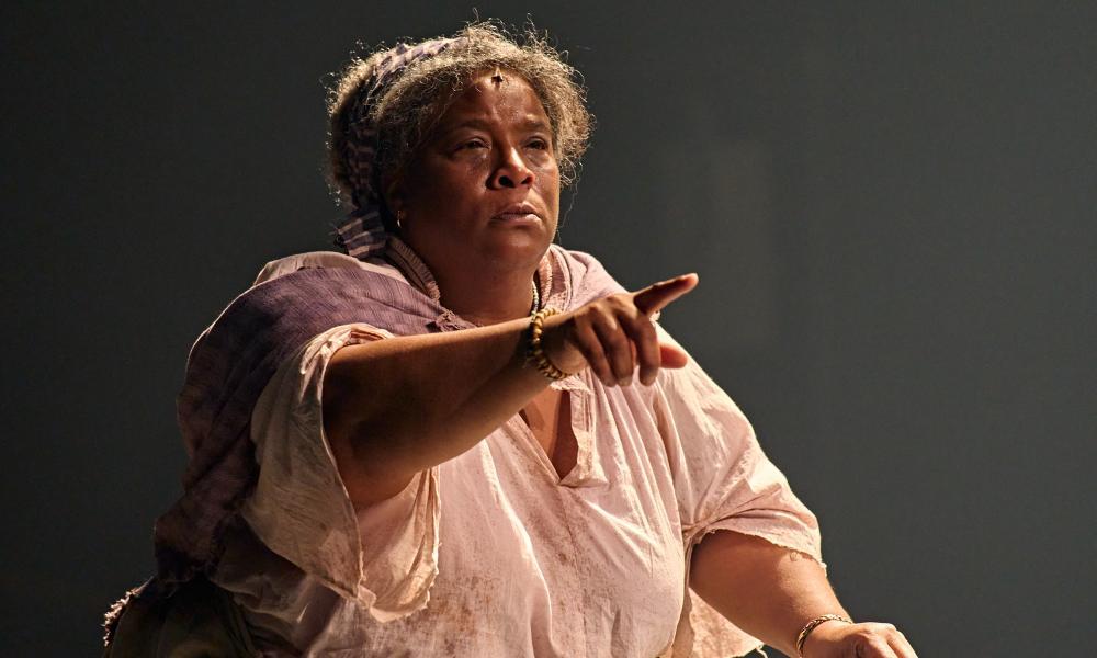 Star-making performance … Llewella Gideon.