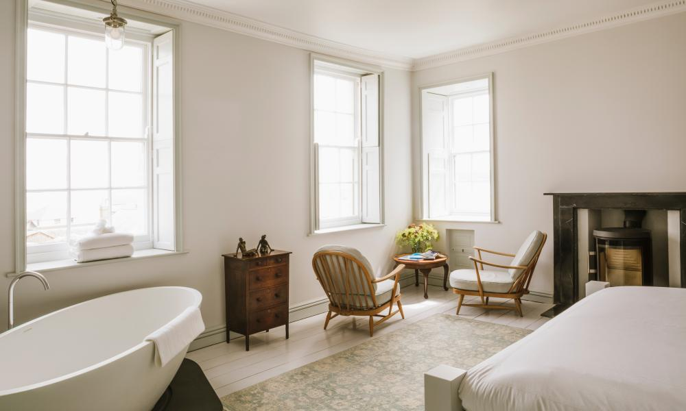 Voted the country's best B&B: Chapel House, Penzance.