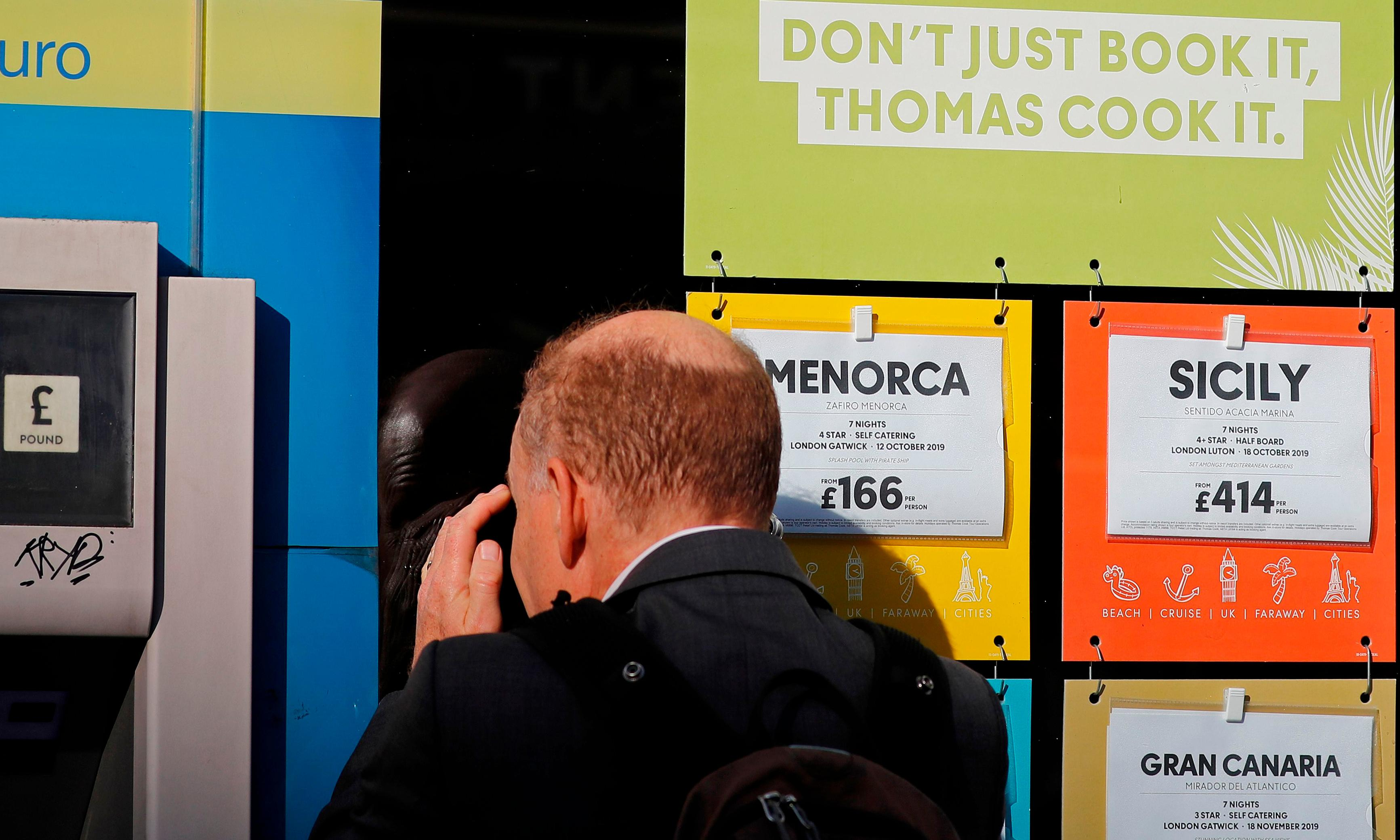 Thomas Cook: what can we learn about booking holidays?