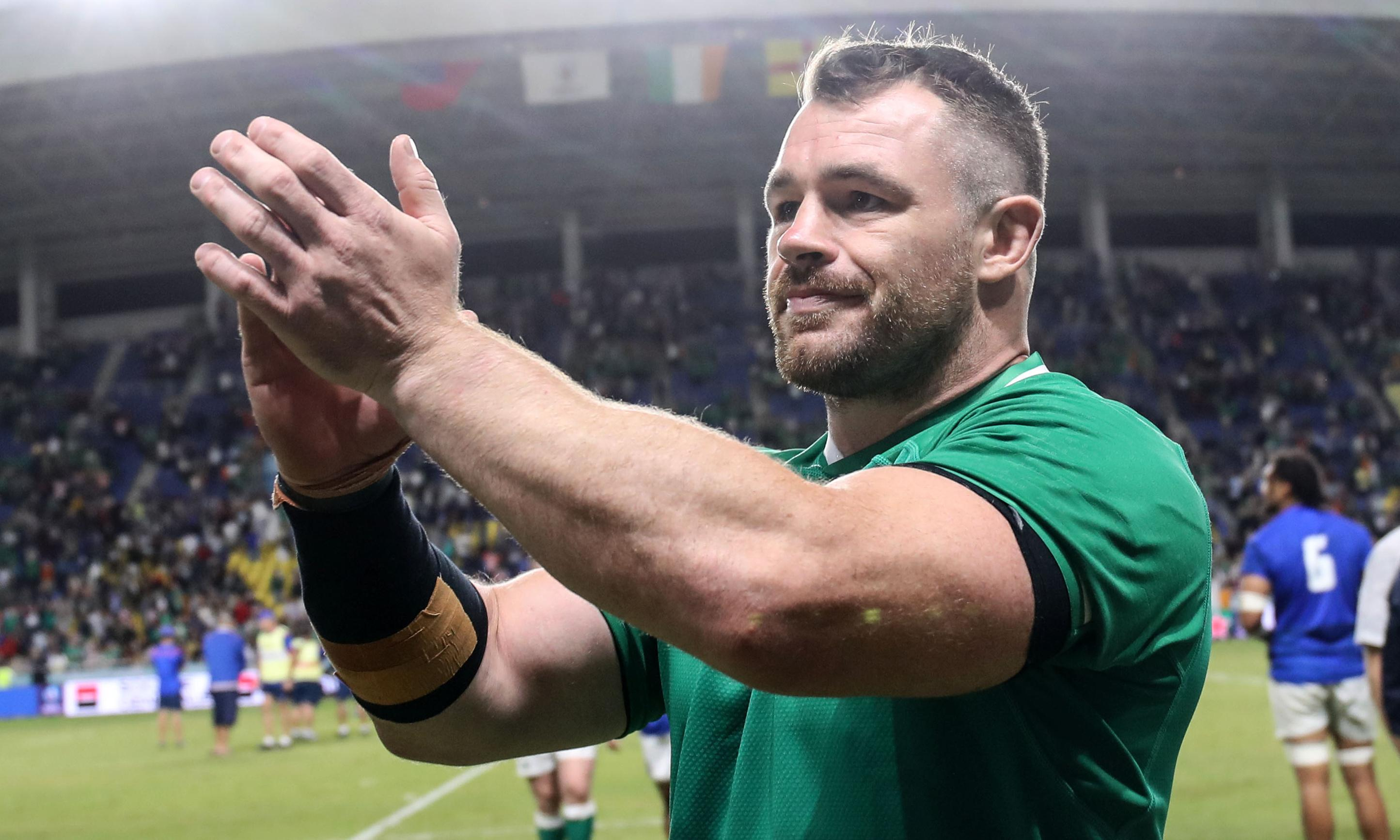 Ireland have new plans for All Blacks in quarter-final, says Cian Healey