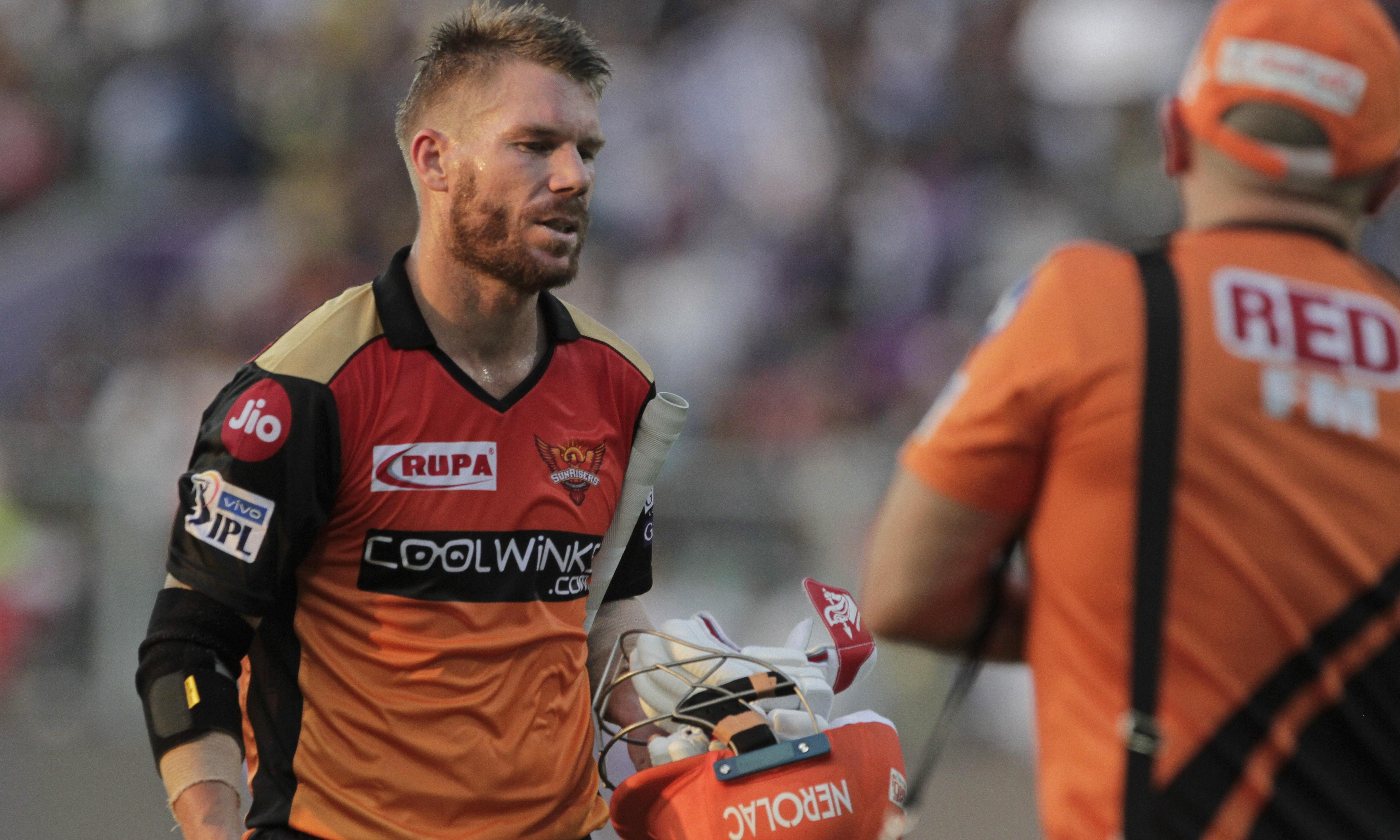 'Nervous' David Warner clubs 85 on IPL return to give Australian selectors a headache