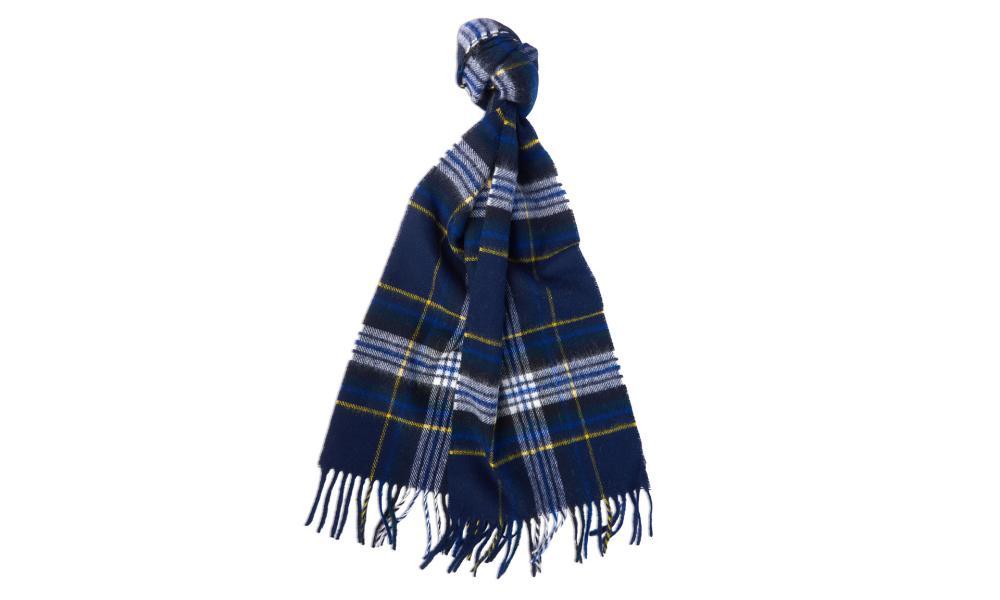 Tartan Barbour scarf, £39.95