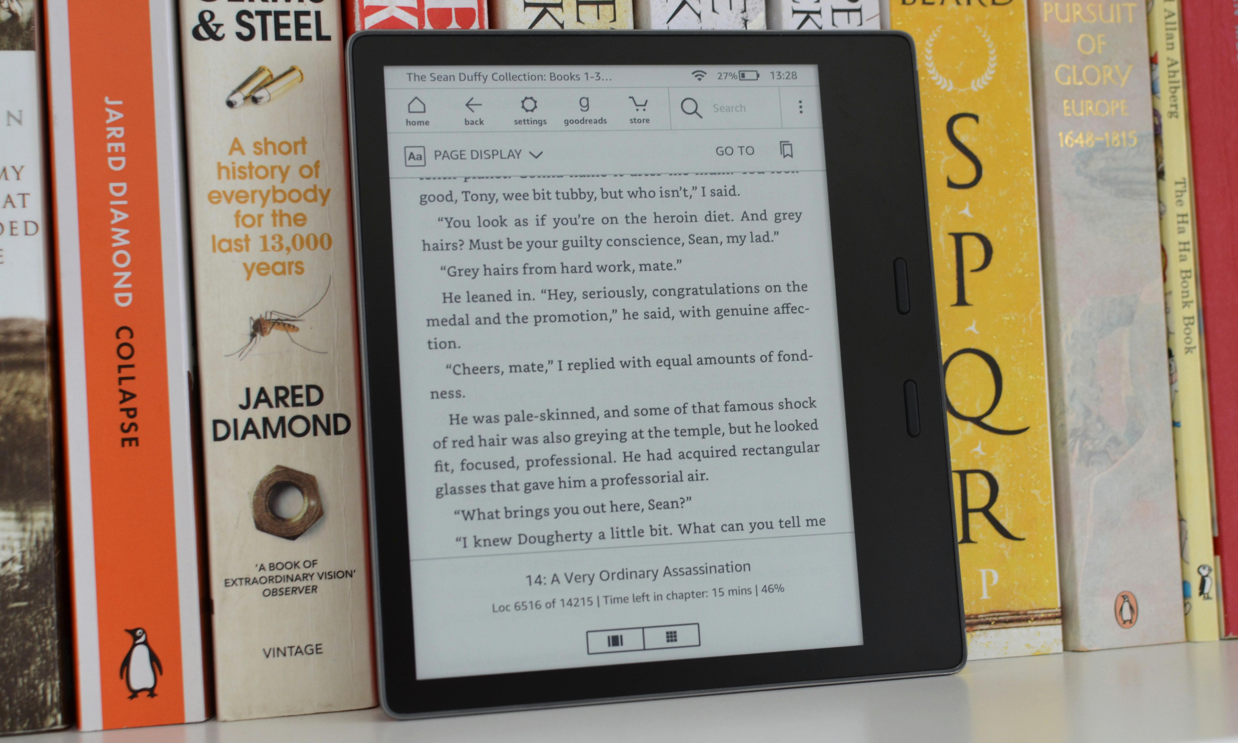 Amazon Kindle Oasis 2019 review: the most paper-like reader yet