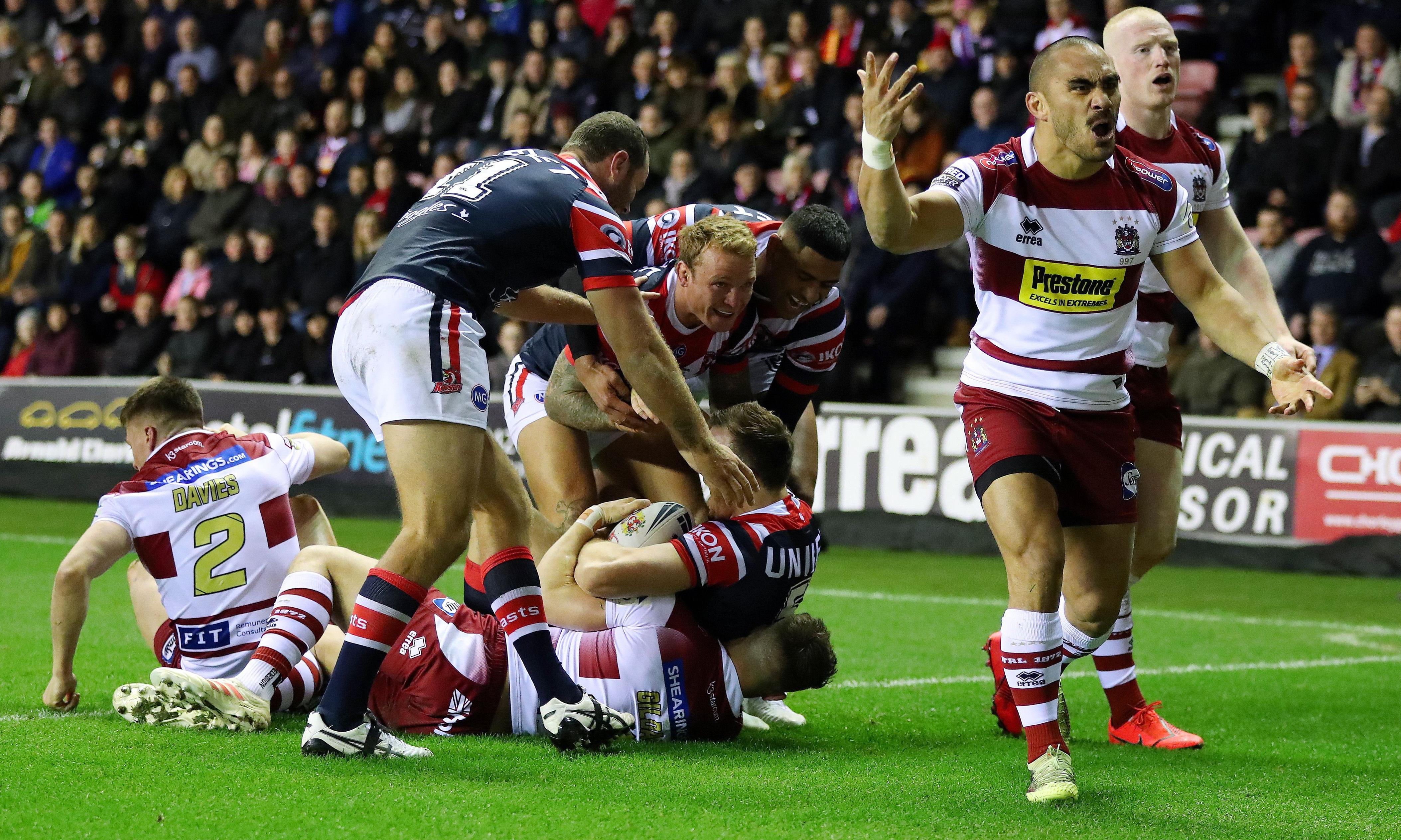 Brett Morris hat-trick powers Roosters past Wigan in World Club Challenge