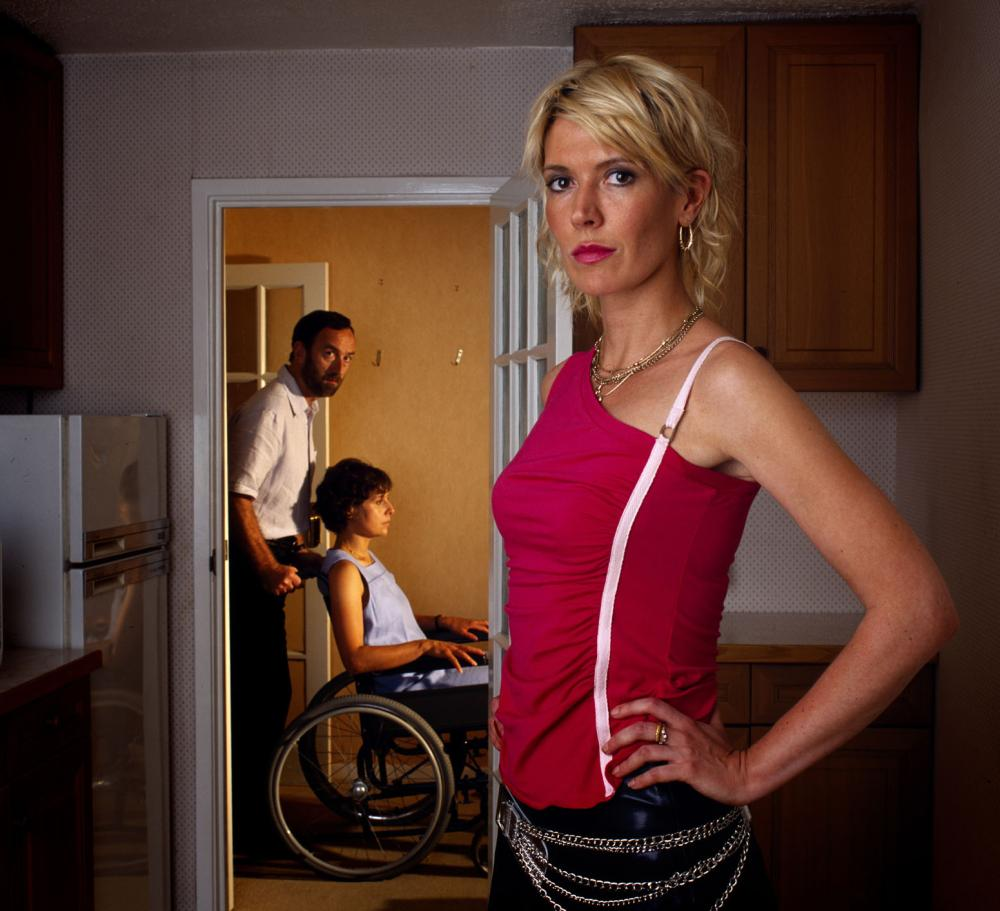 Nighty Night (left to right): Angus Deayton, Rebecca Front and Julia Davis