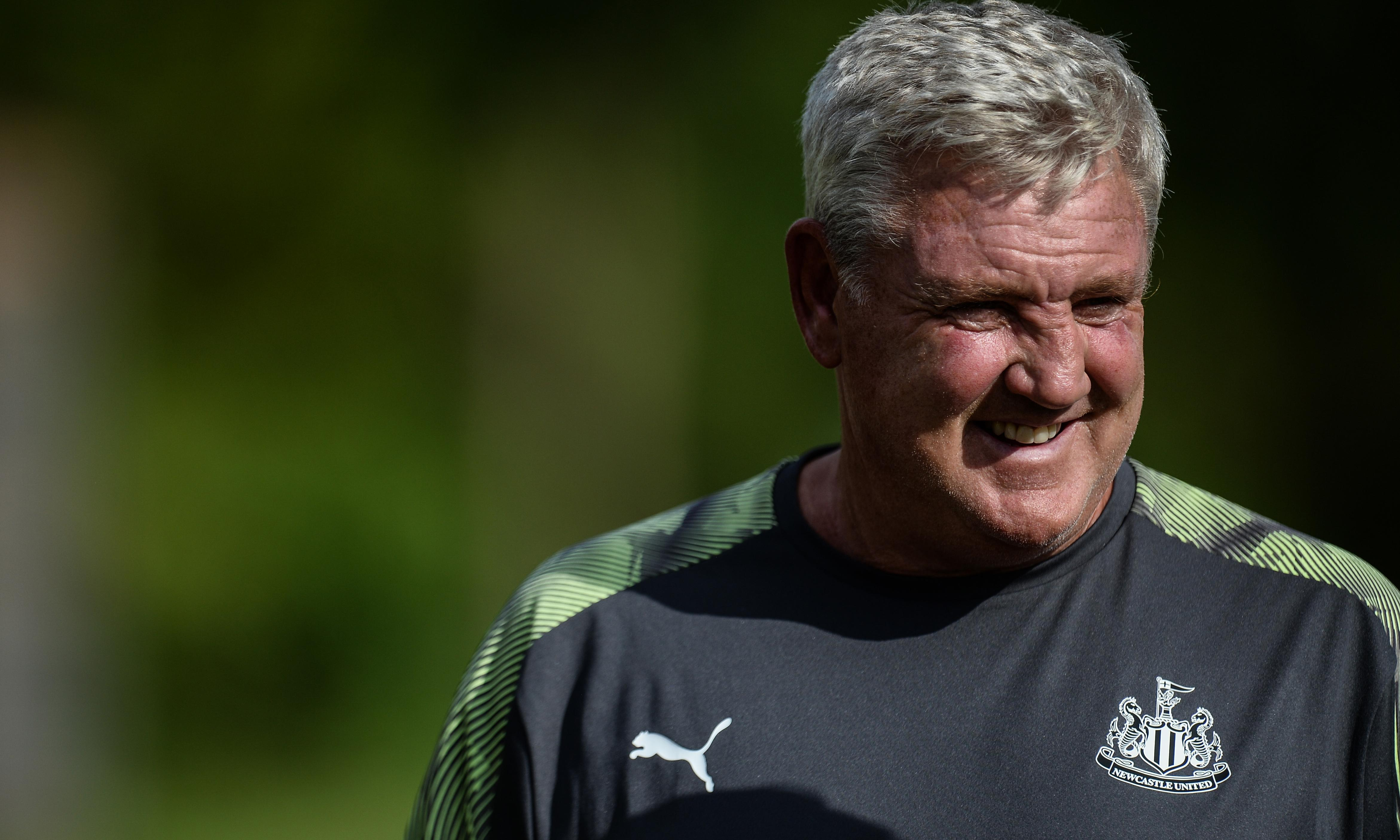 Steve Bruce pledges to 'prove the doubters wrong' at Newcastle