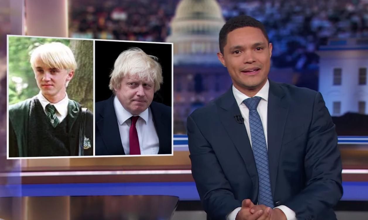 Trevor Noah on Boris Johnson: 'Like a midlife crisis Malfoy'