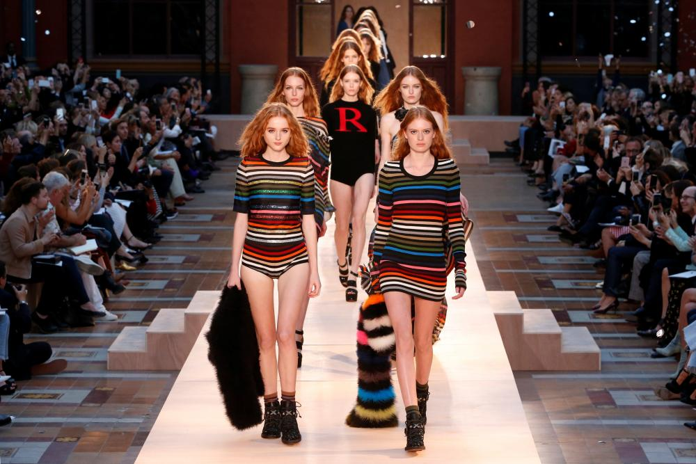 Sonia Rykiel at Paris fashion week