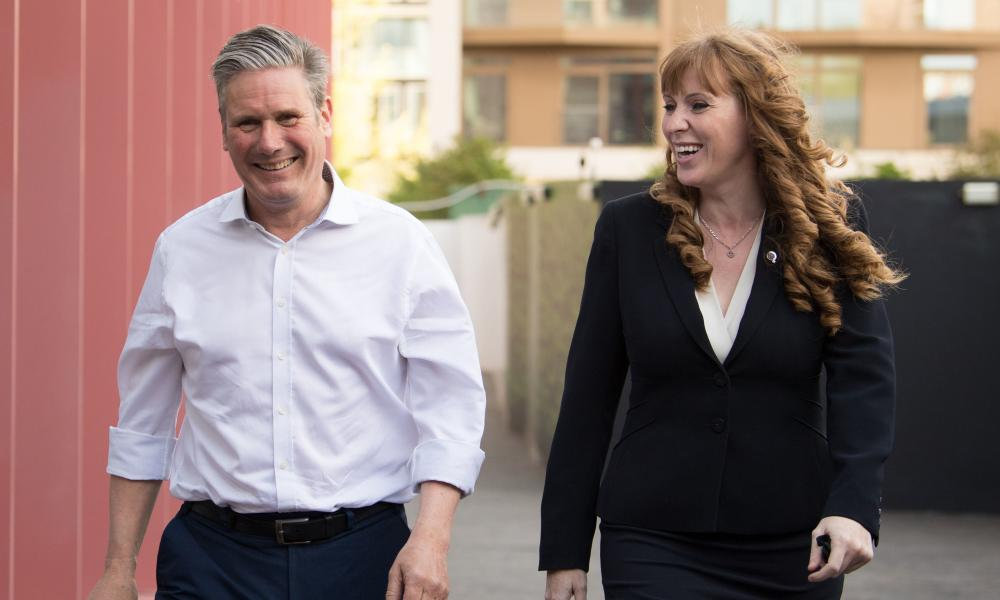 Keir Starmer and Angela Rayner in May