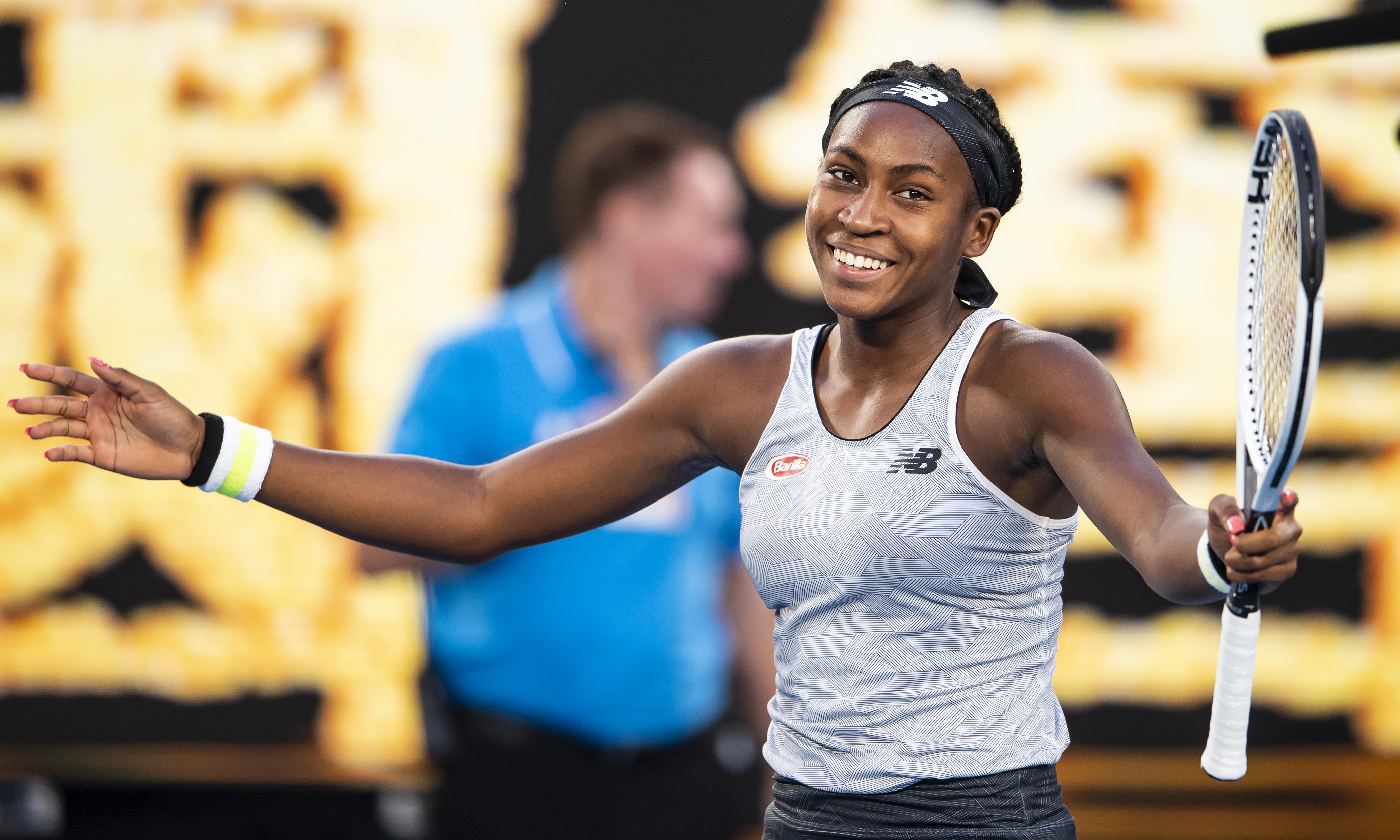 Coco Gauff routs defending champion Naomi Osaka at Australian Open