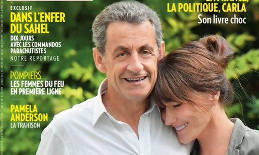 Tall tales: Paris Match explains Sarkozy's growth spurt in photo